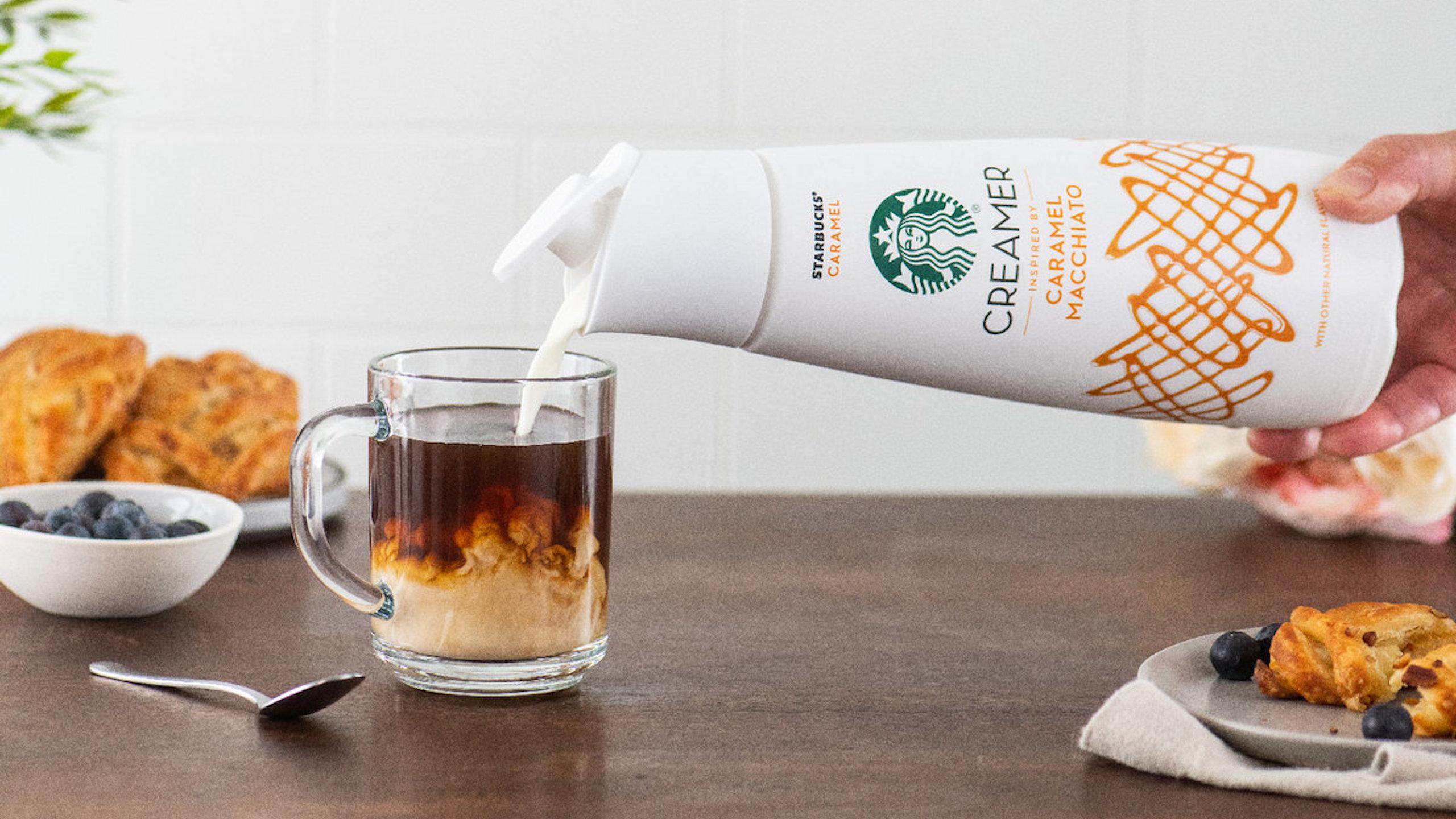 starbucks cremas para cafe