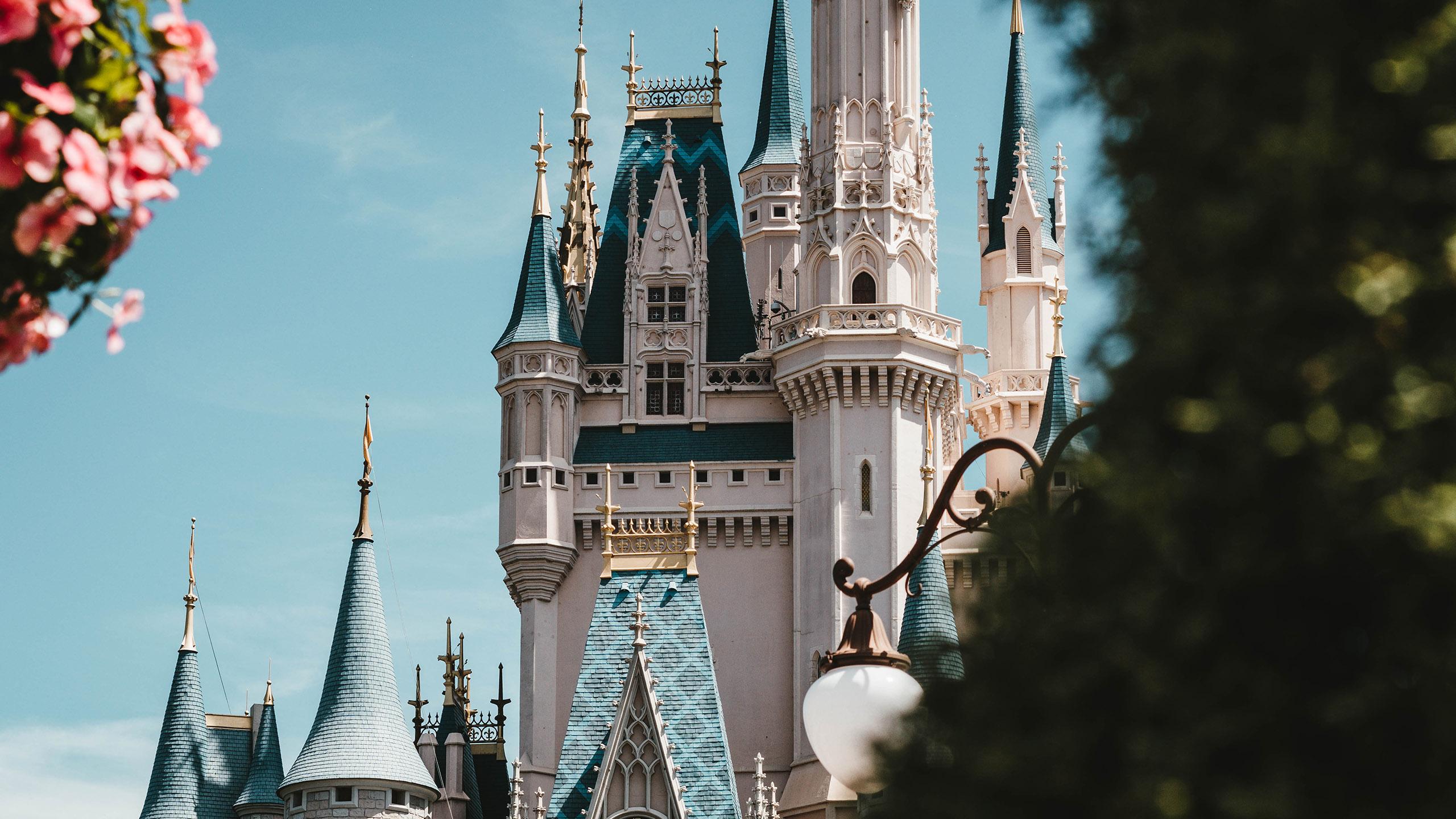 castillo, Disney