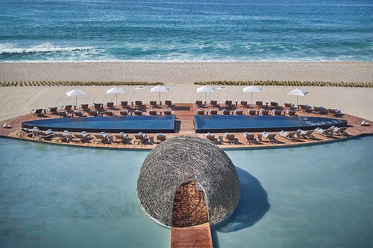 alberca, playa, Los Cabos