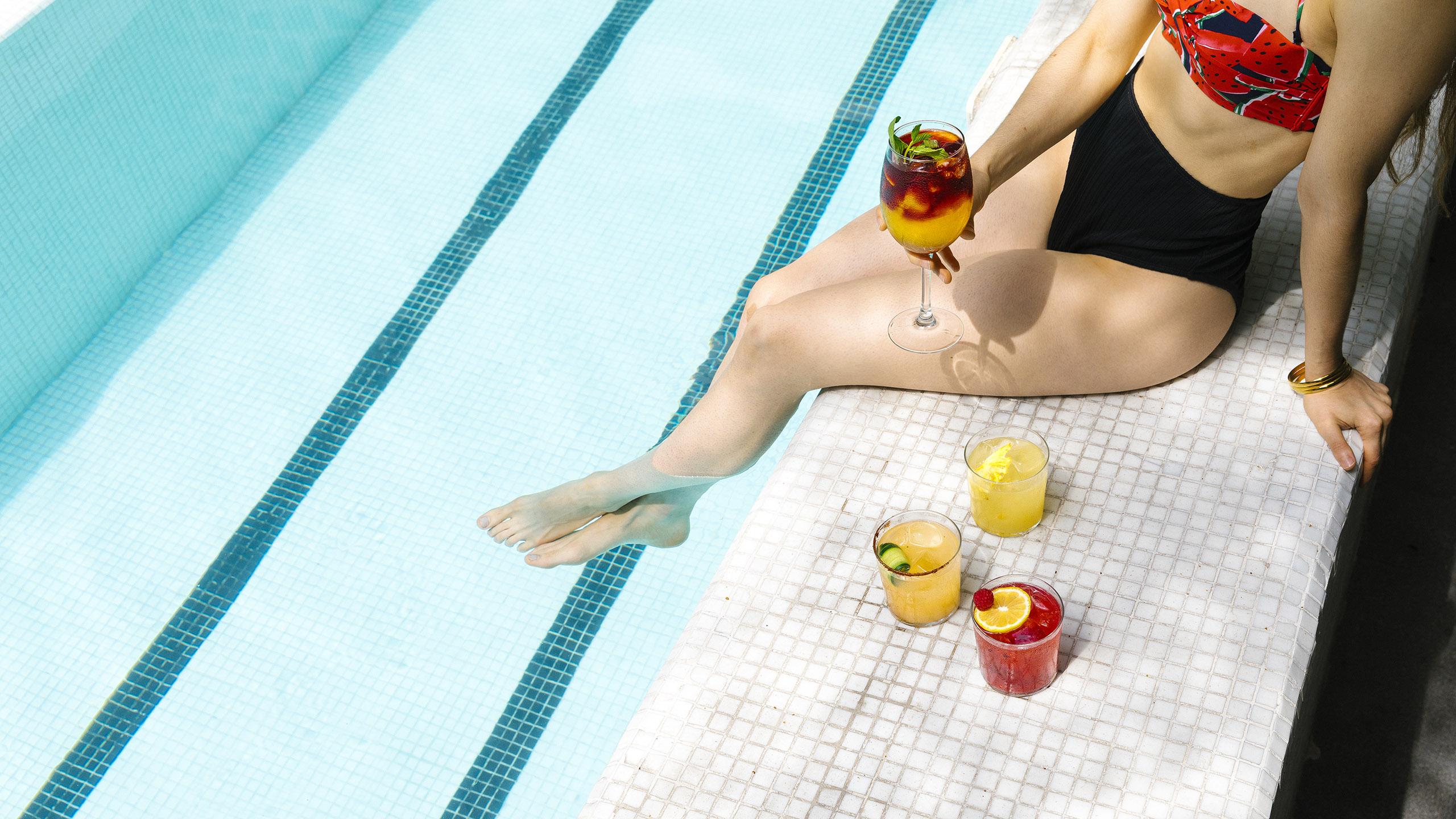 Hotel Carlota, cocteles, cocteles para el verano