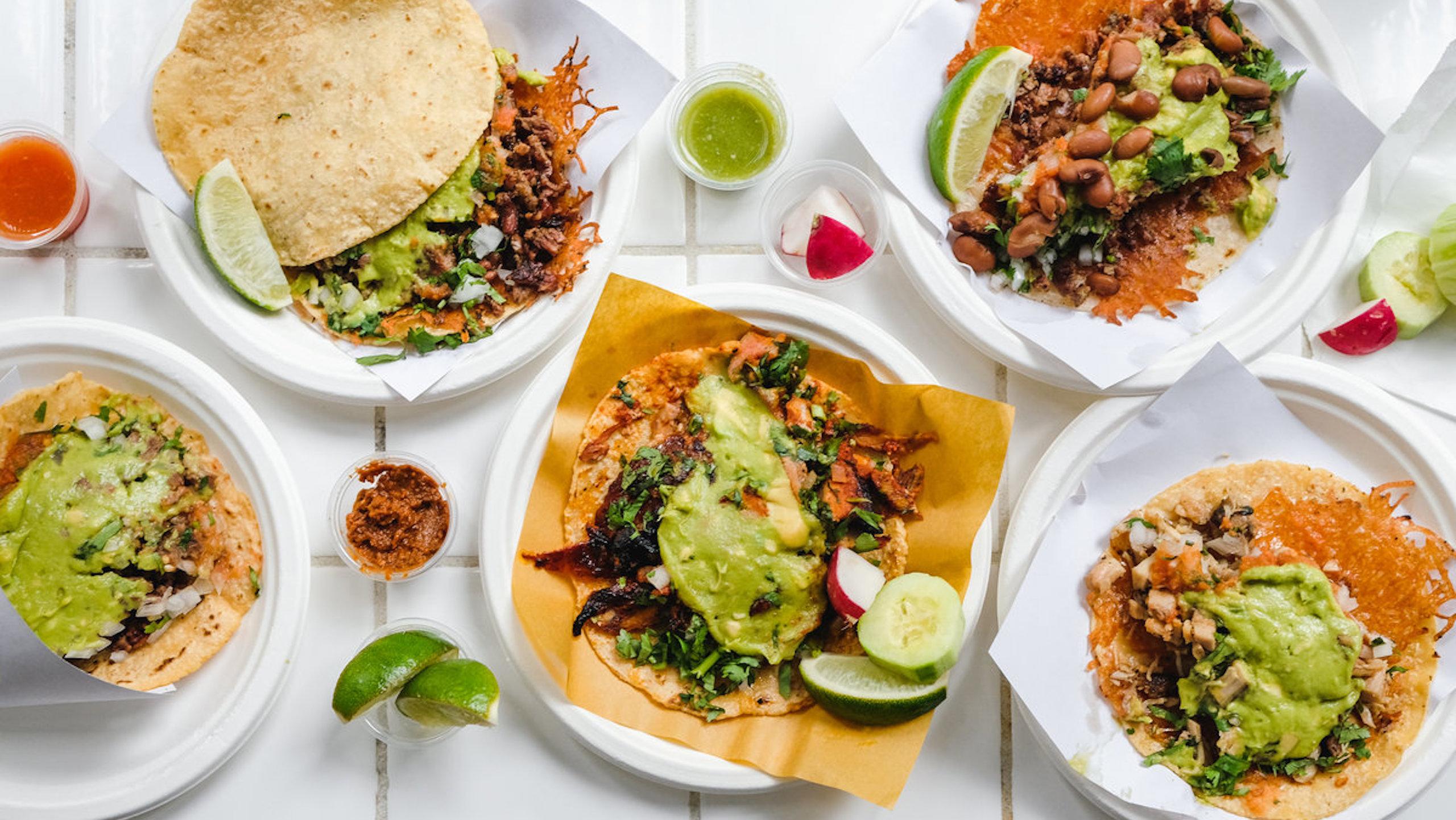 tacos en Los Ángeles