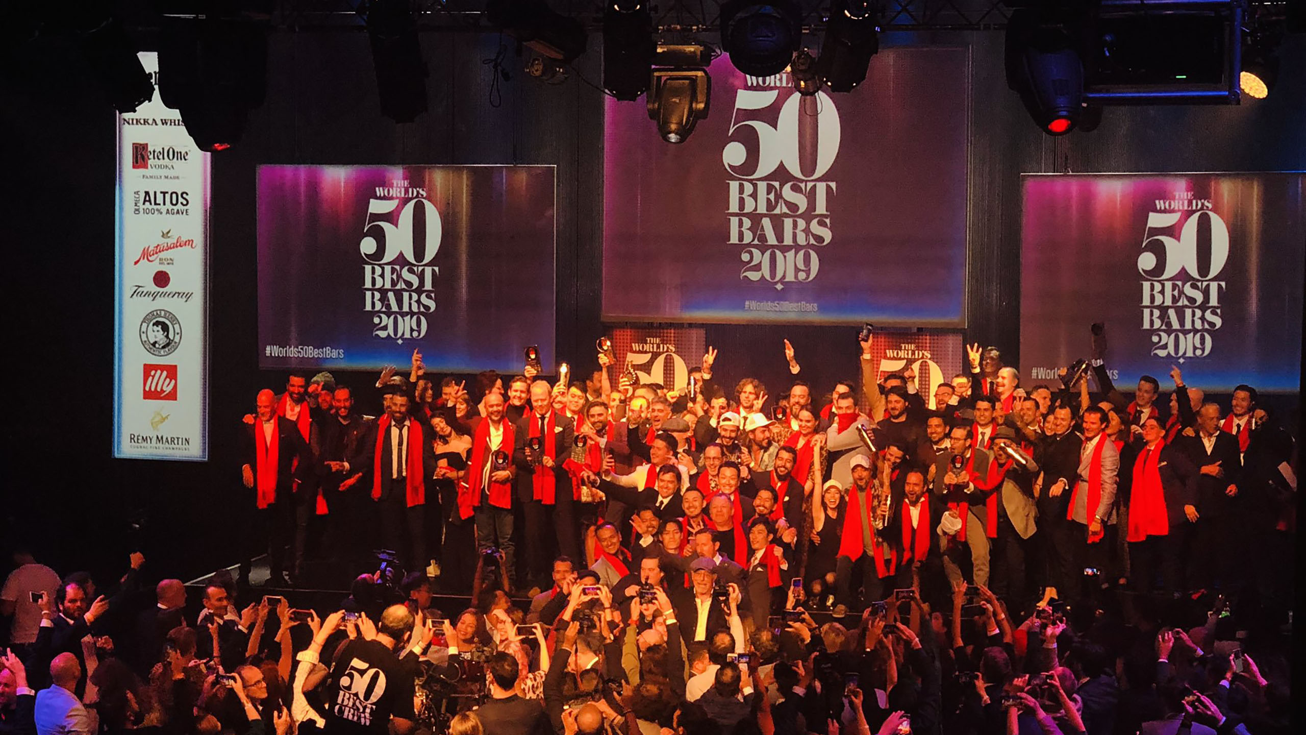 50 Best Bars, premios, ceremonia