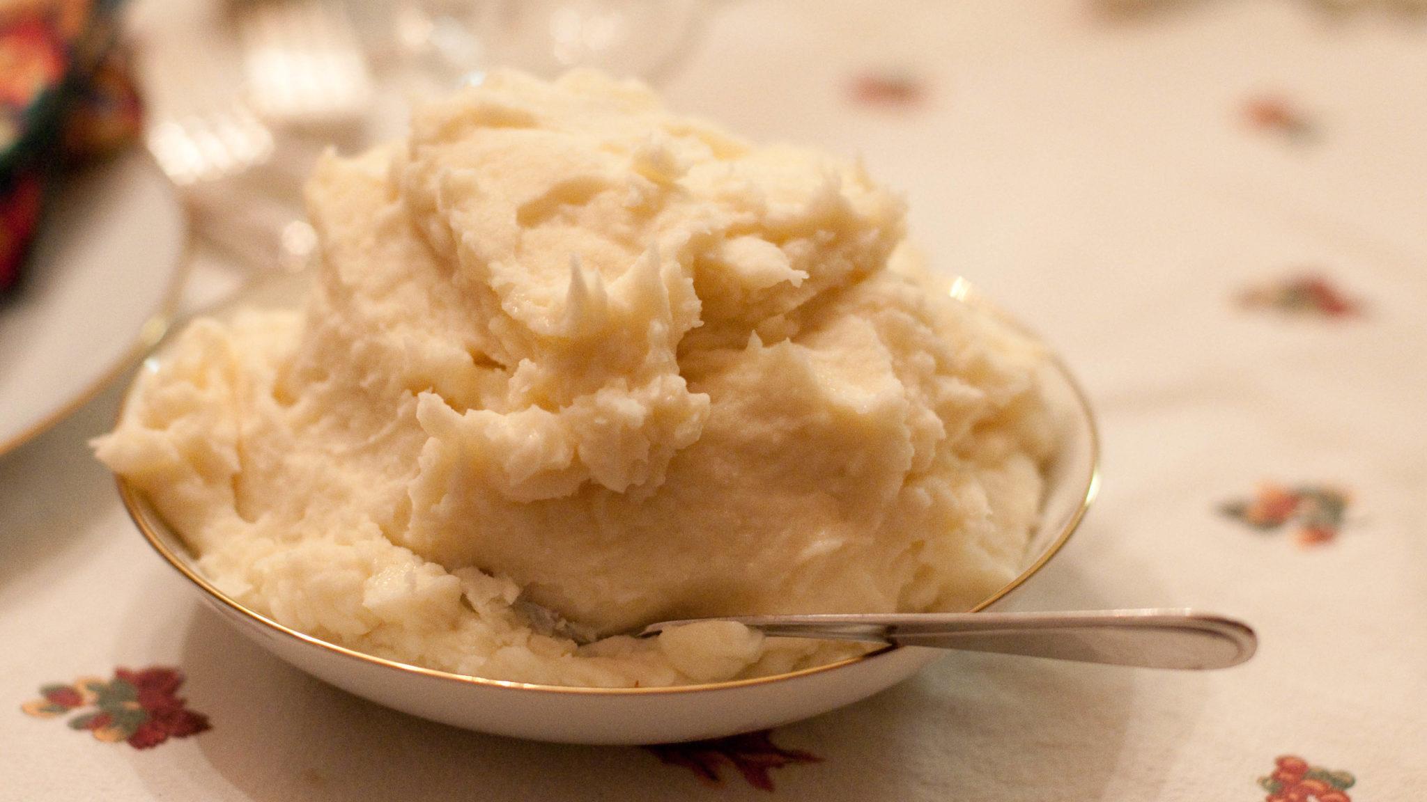 mayonesa para el puré de papas