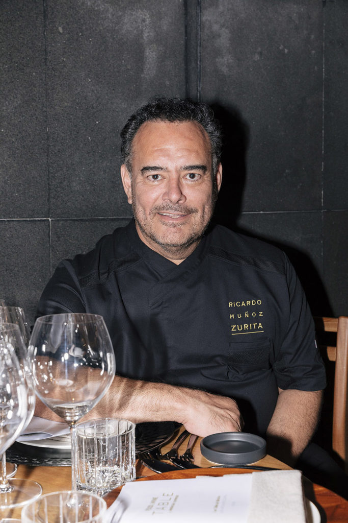 Ricardo Muñoz Zurita, chef