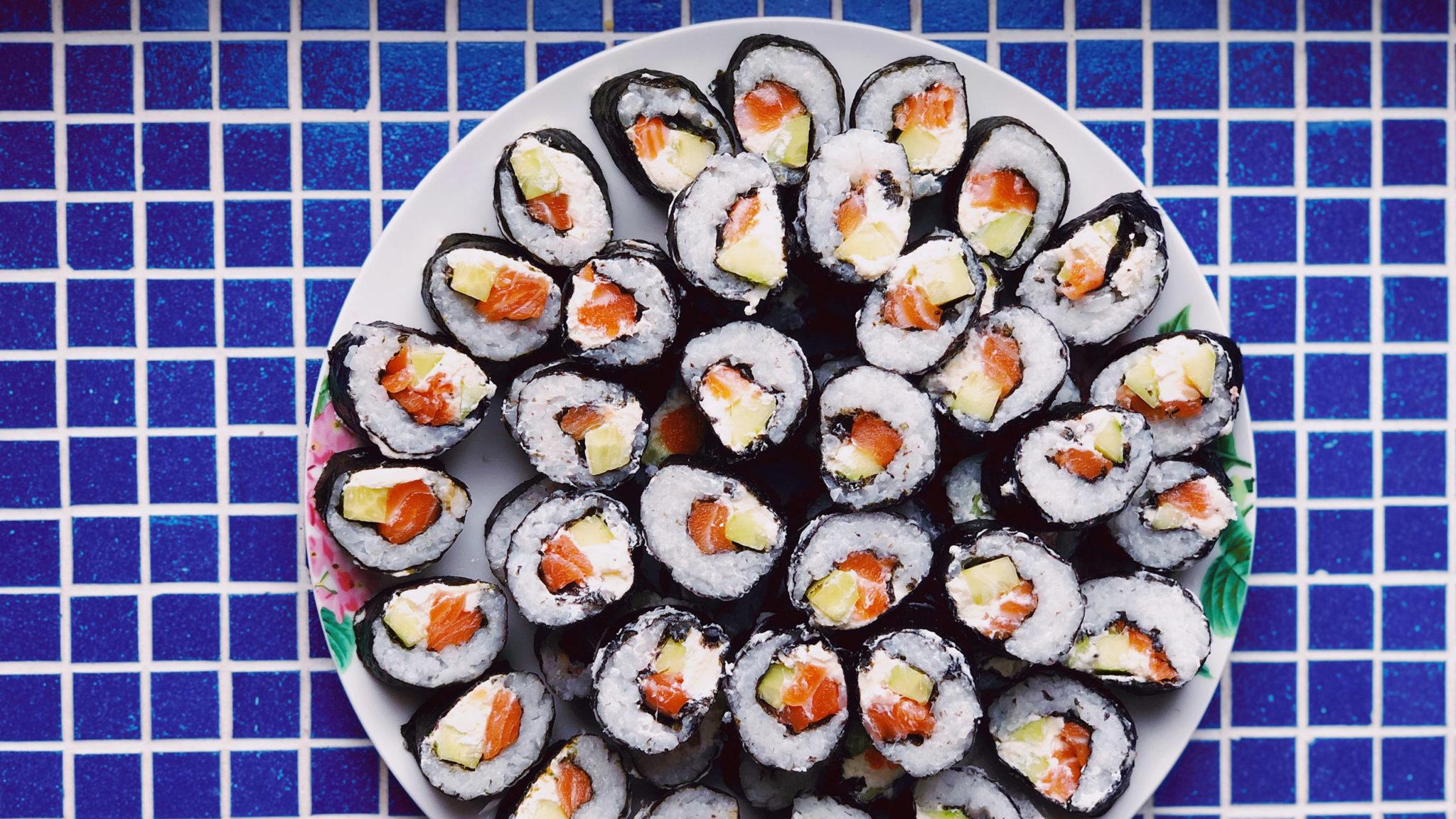 alga nori, nori, cambio climático, sushi