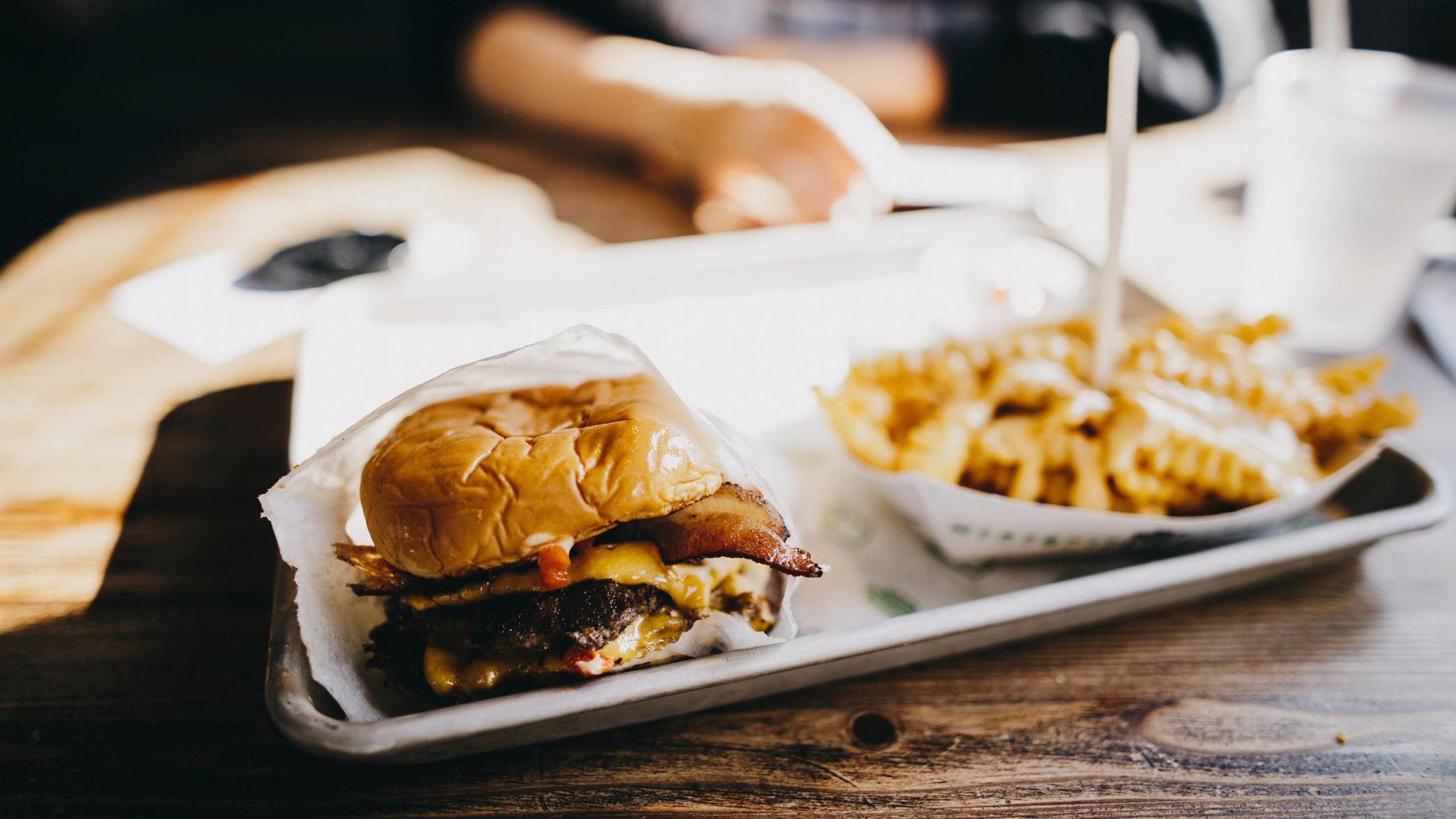 Shake Shack, hamburguesa