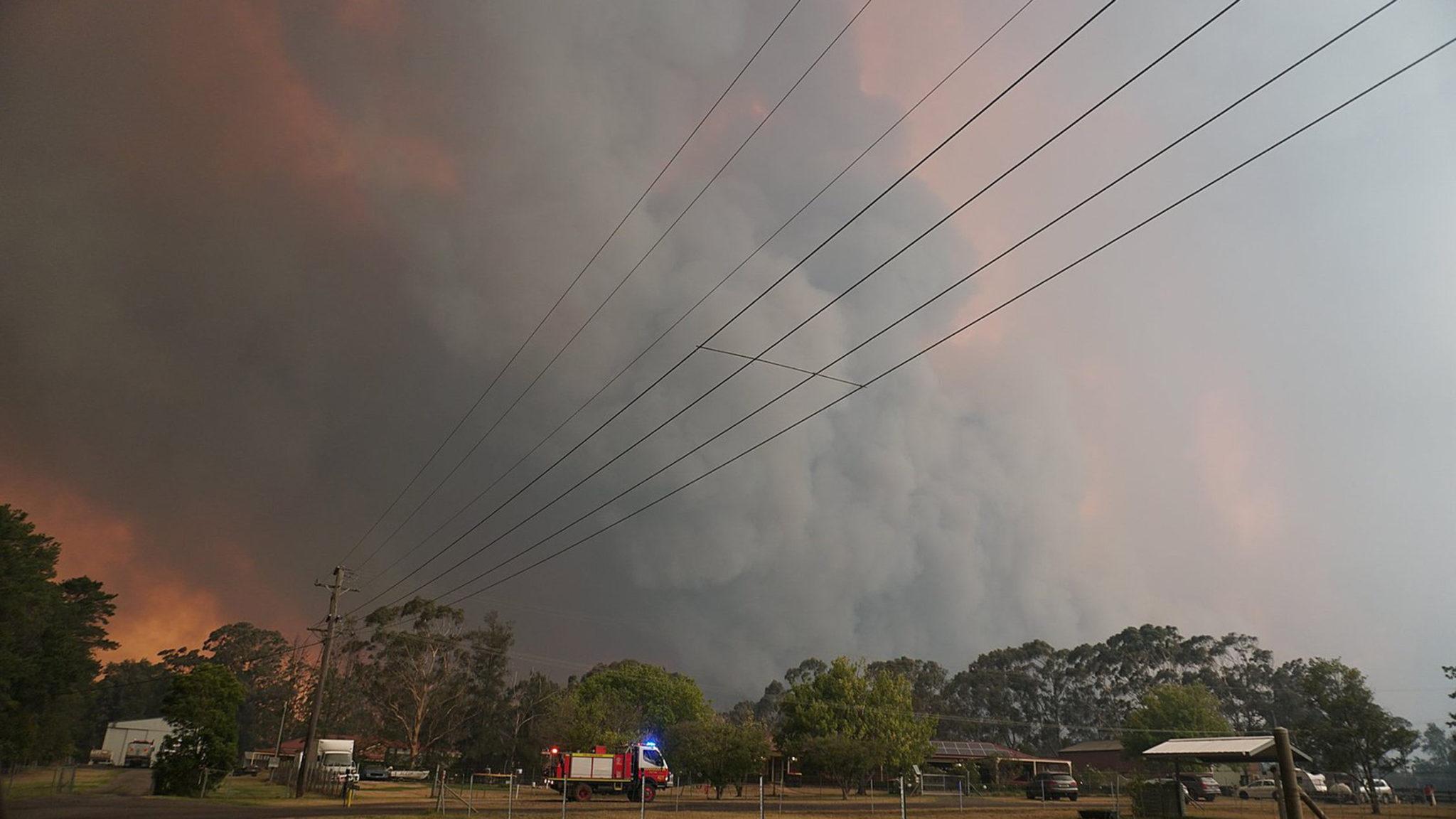 apoyos incendios australia