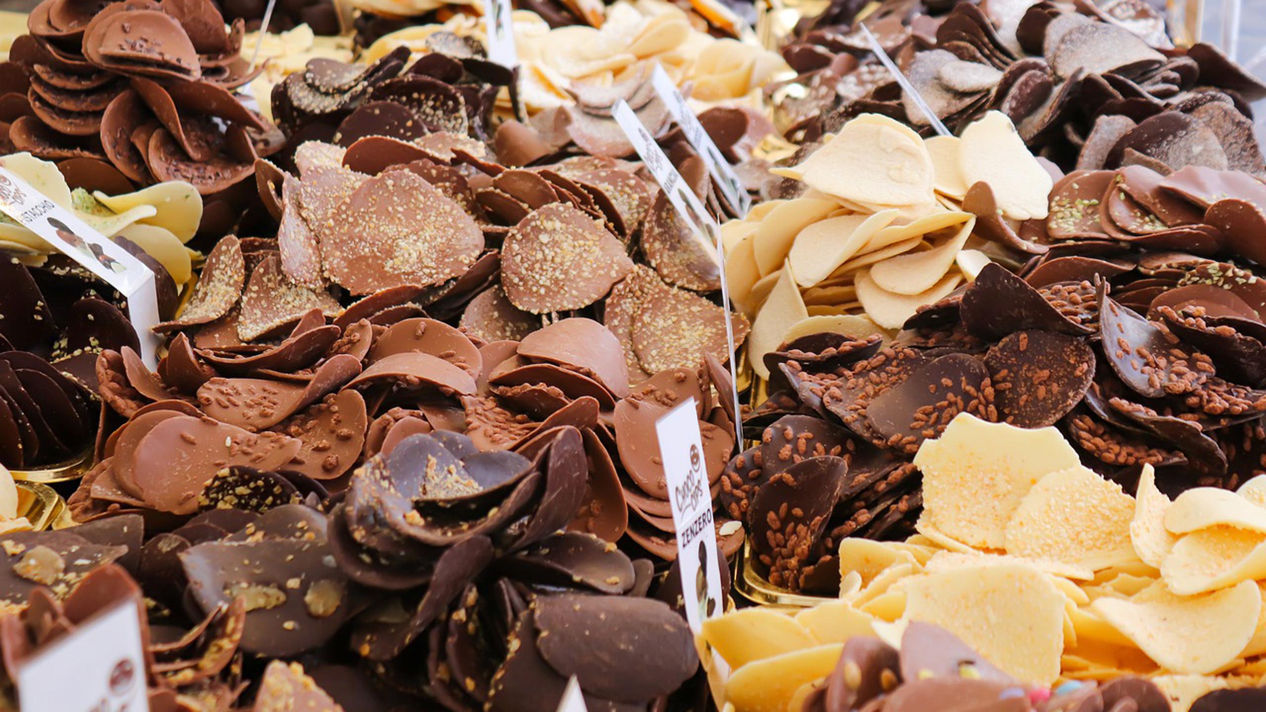 tipo de chocolate