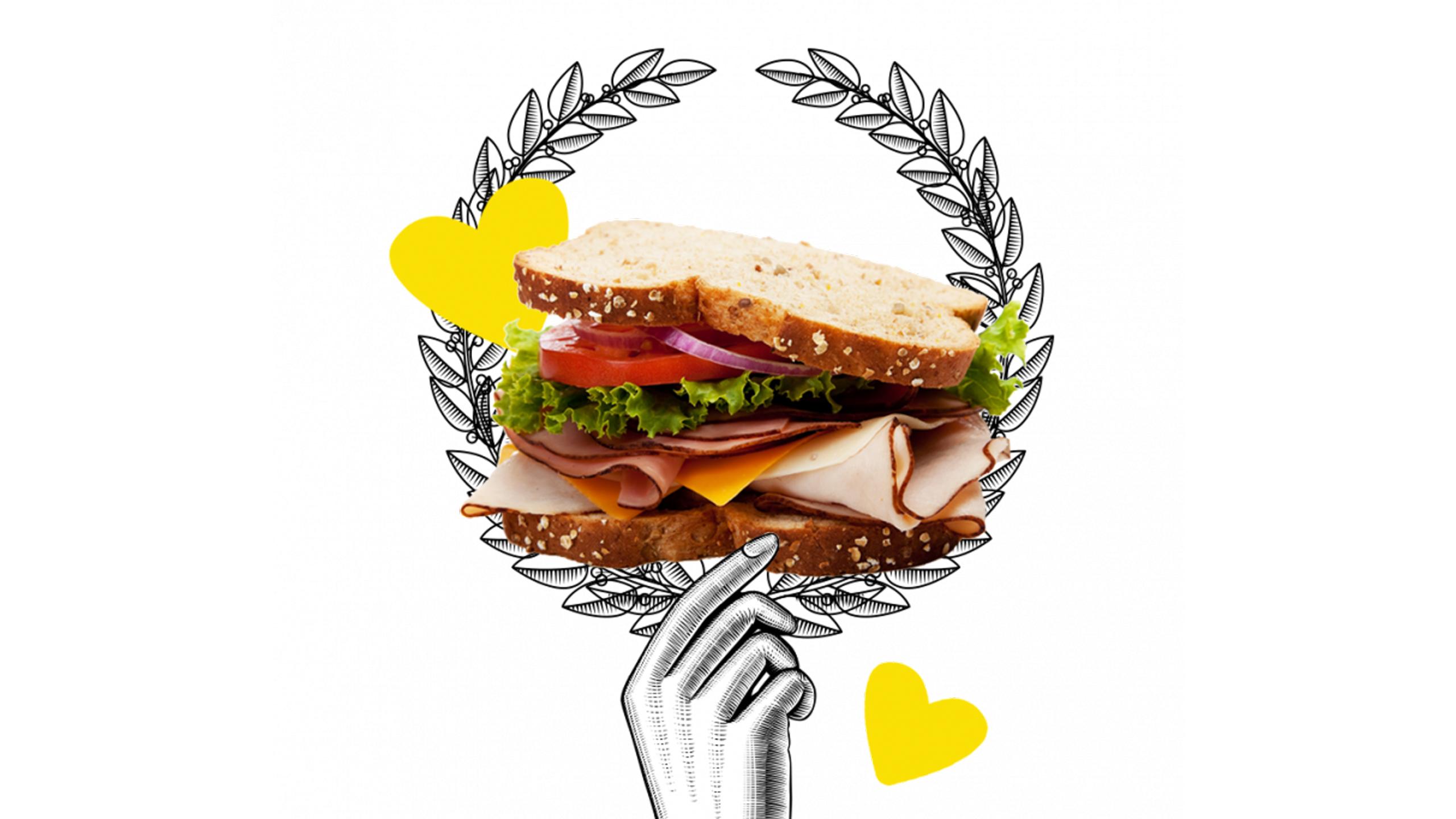 origen sándwich