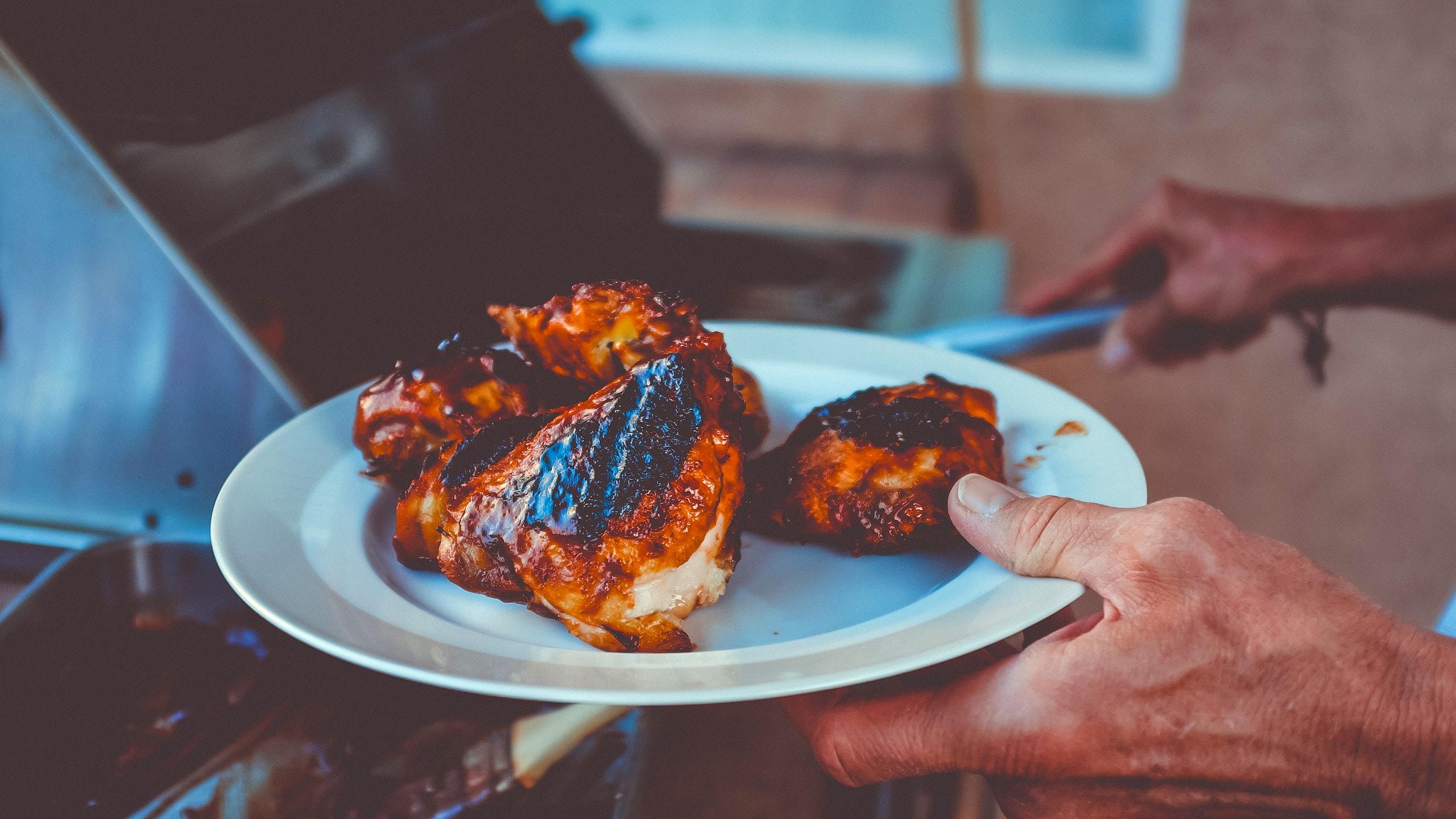 marinar de pollo