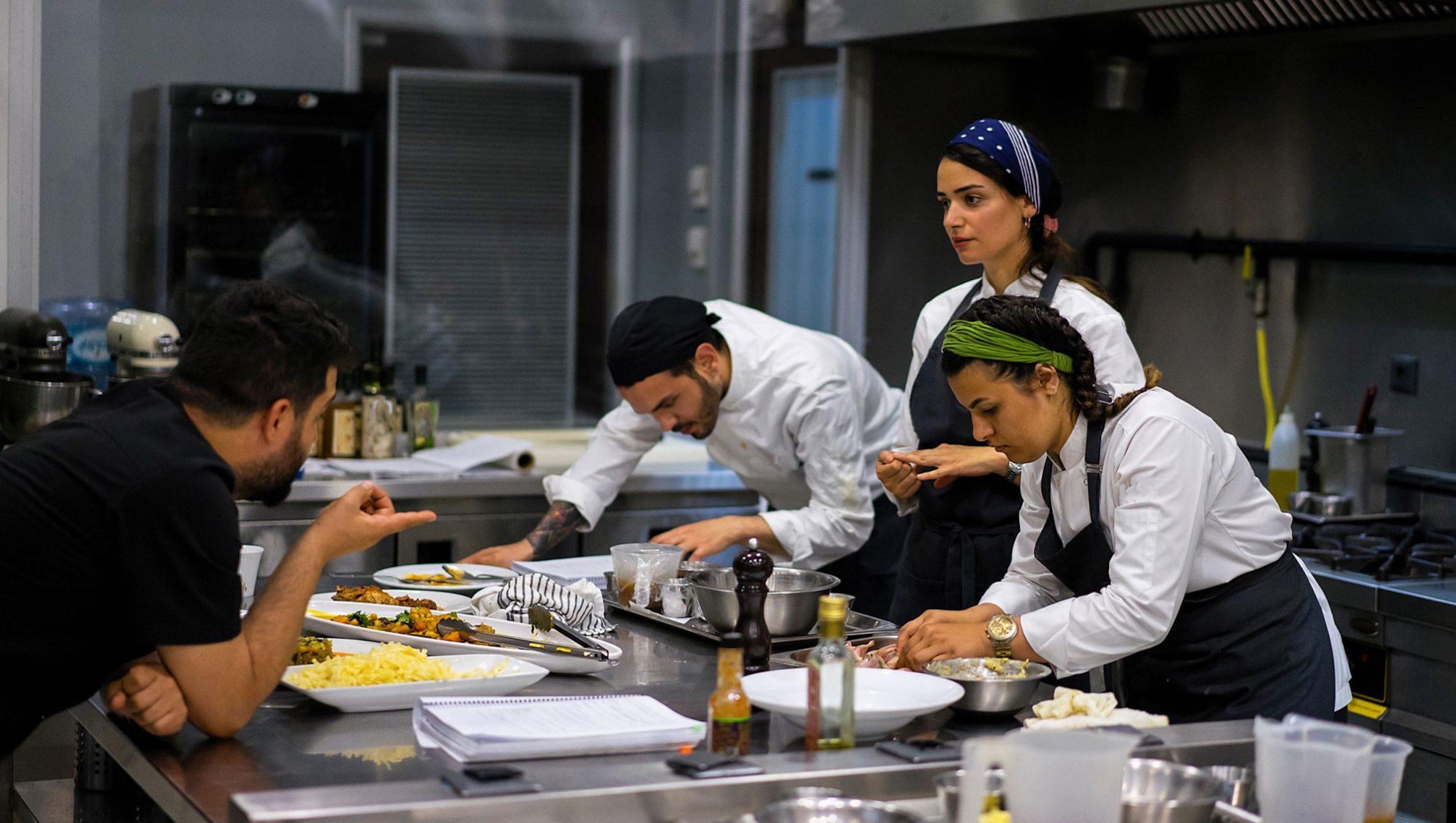 habitos de la escuela de cocina