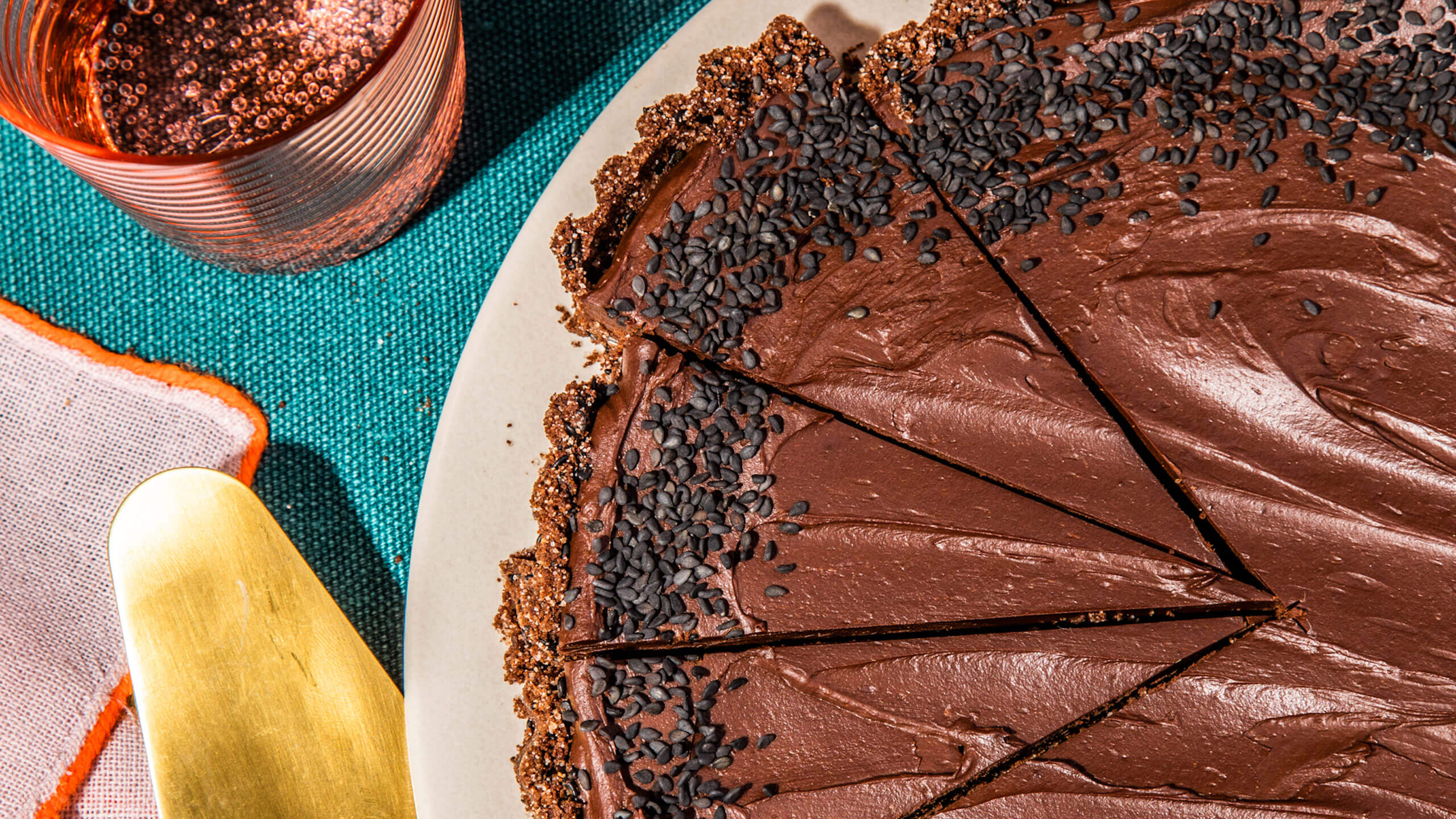 tarta de chocolate con miso