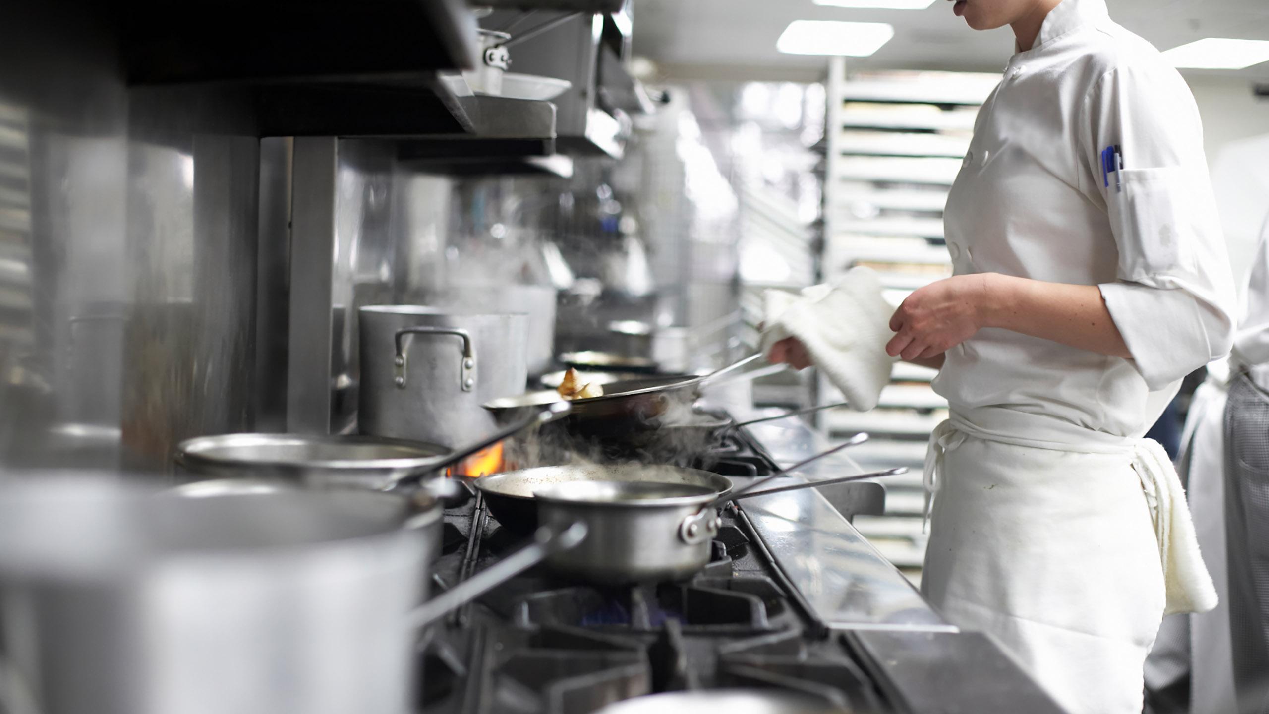 cocina, chef, cocinero