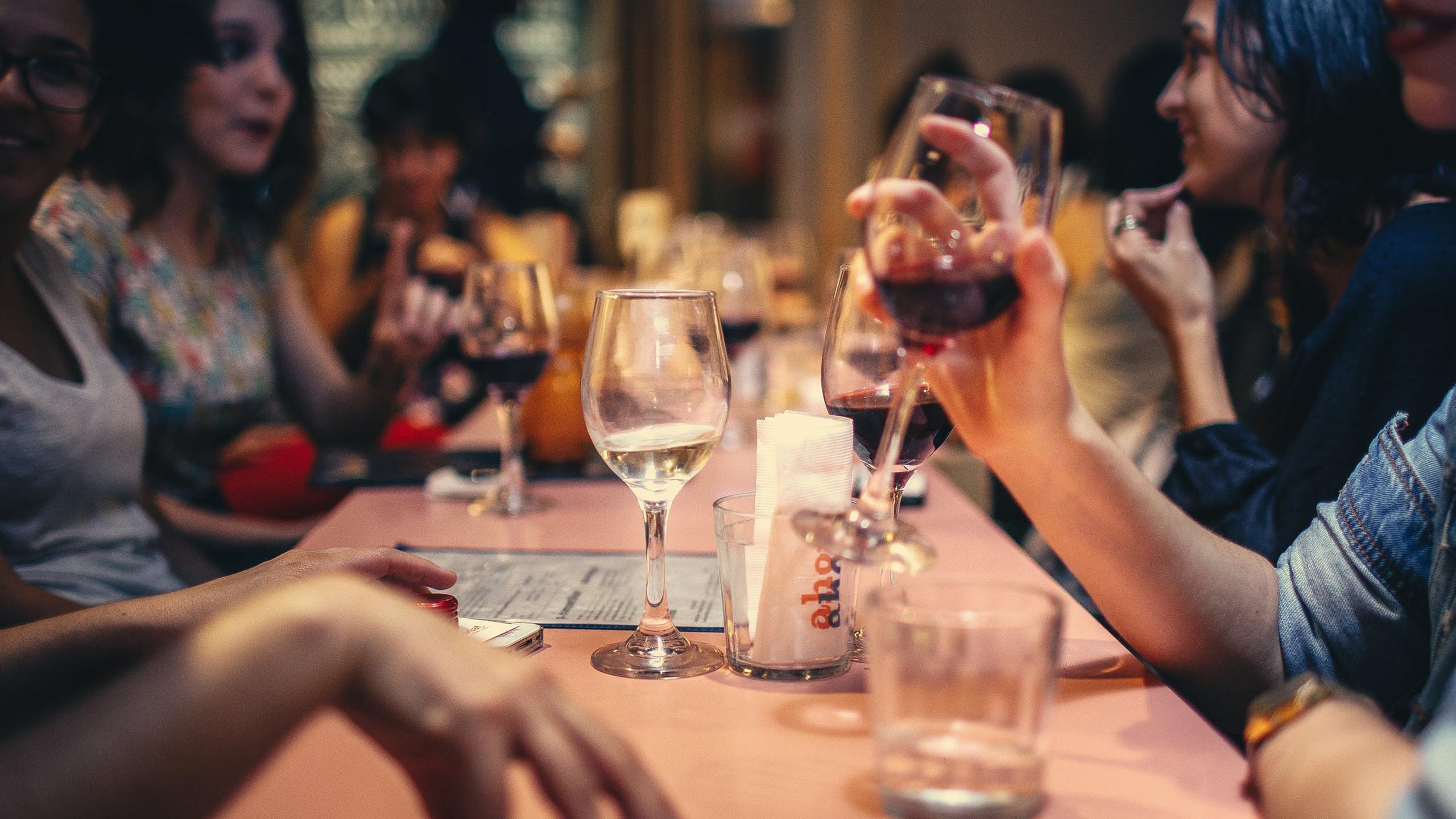 restaurantes, vino
