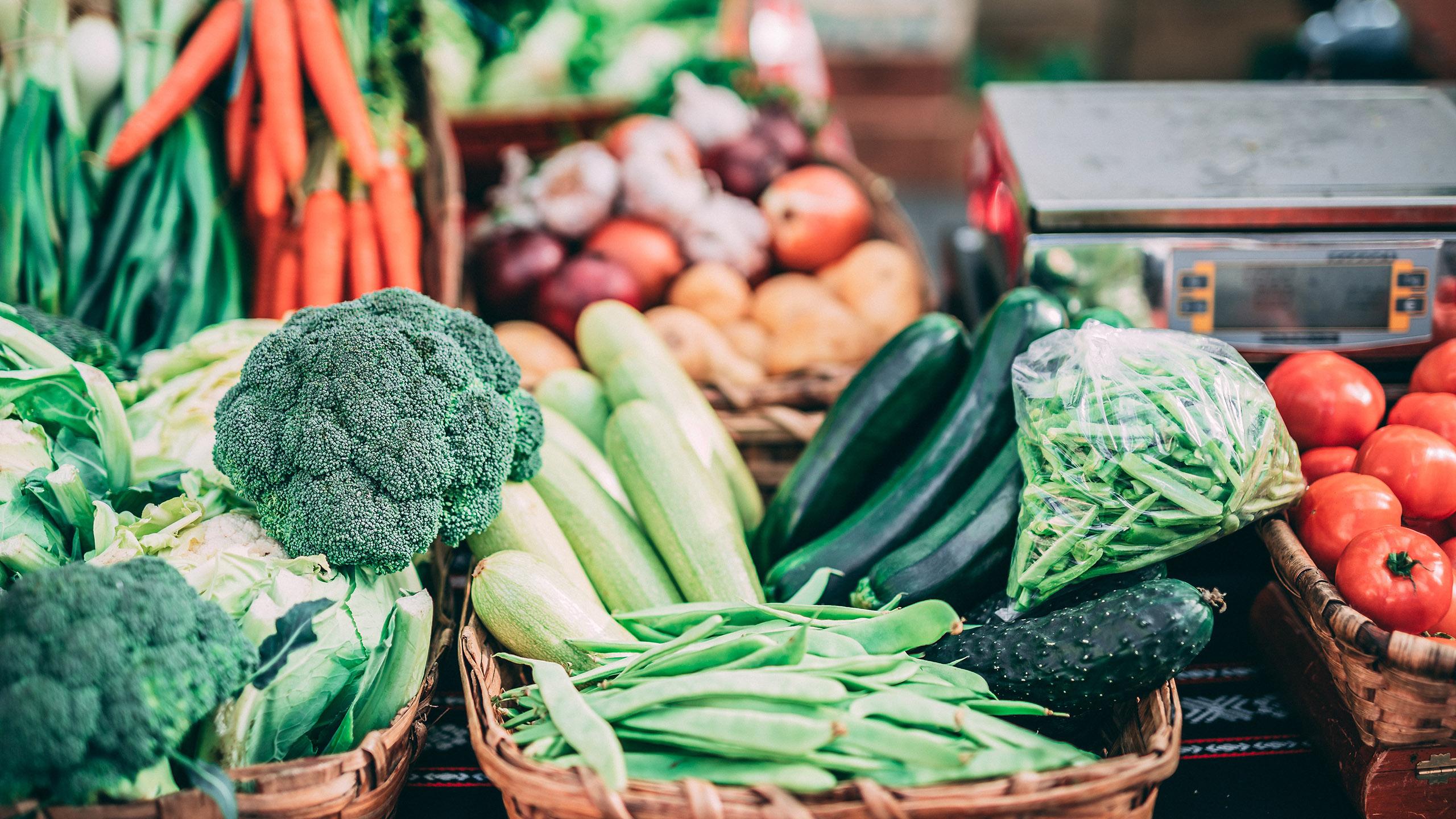 vegetales, guía para refrigerar verduras