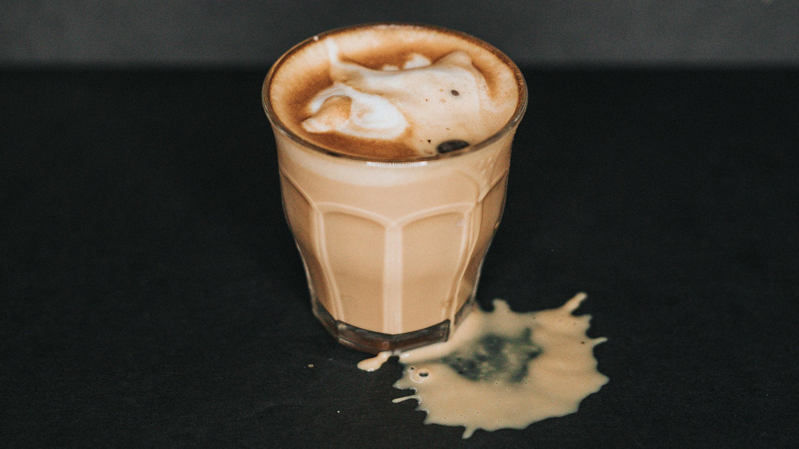 café con leche, café