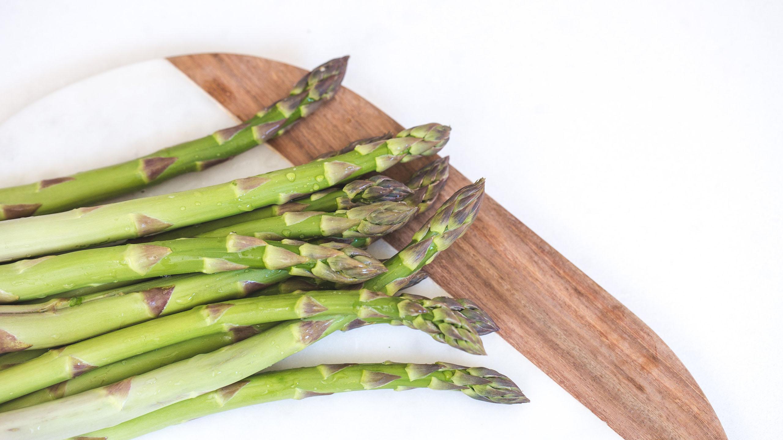 espárragos, verduras, técnica de cocción