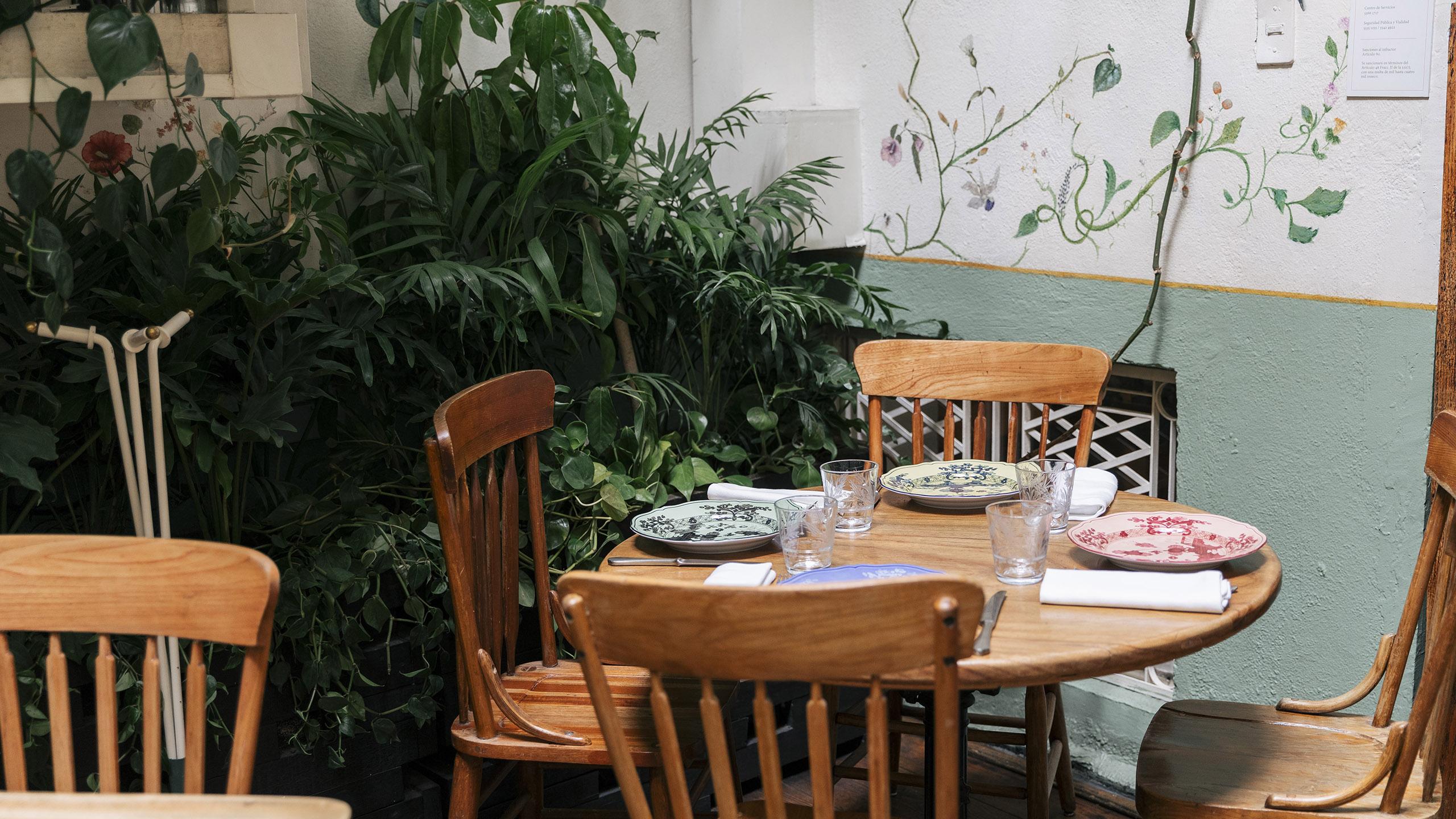 Rosetta, una de las mesas del restaurante Rosetta