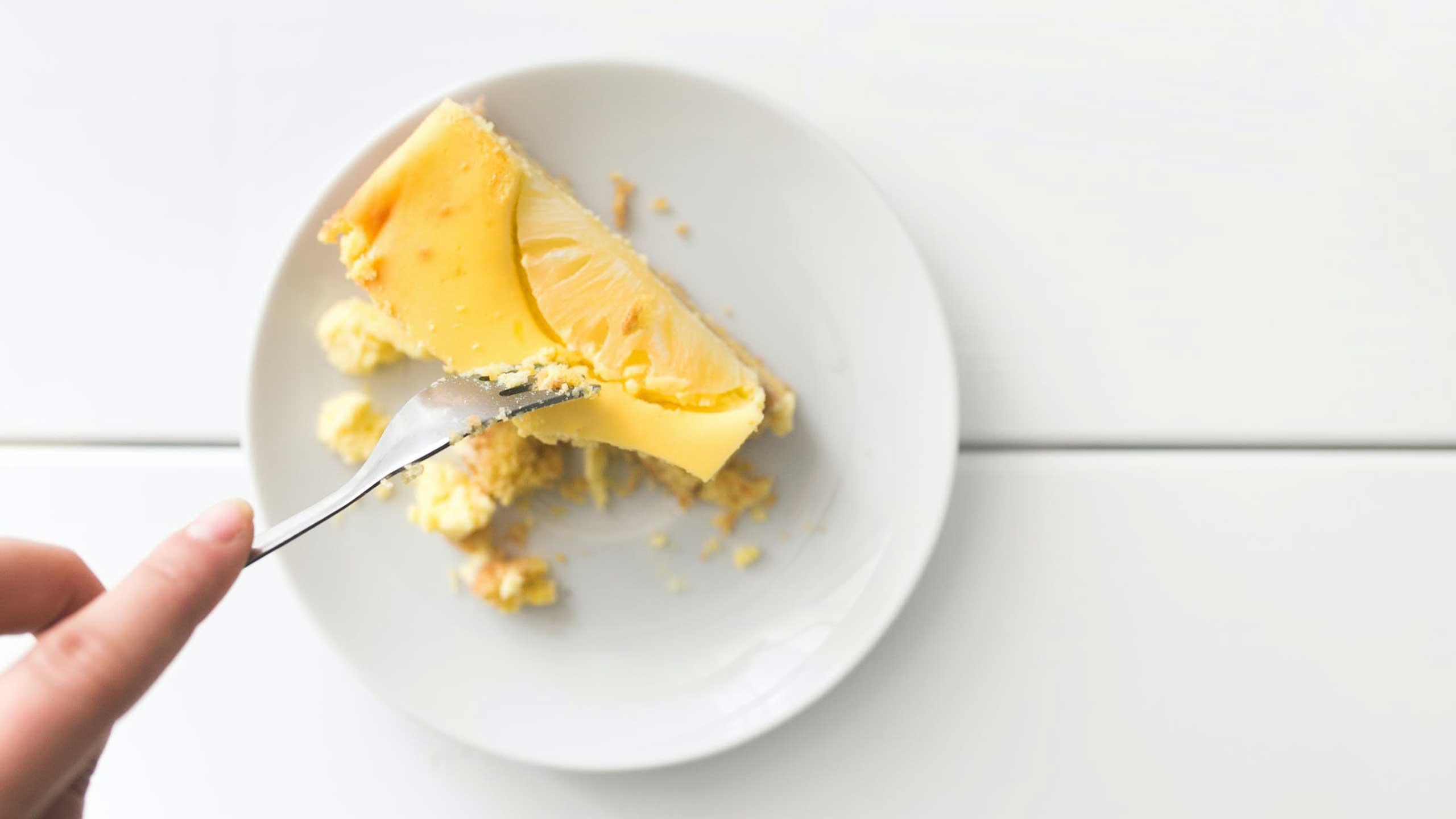 pastel con mayonesa