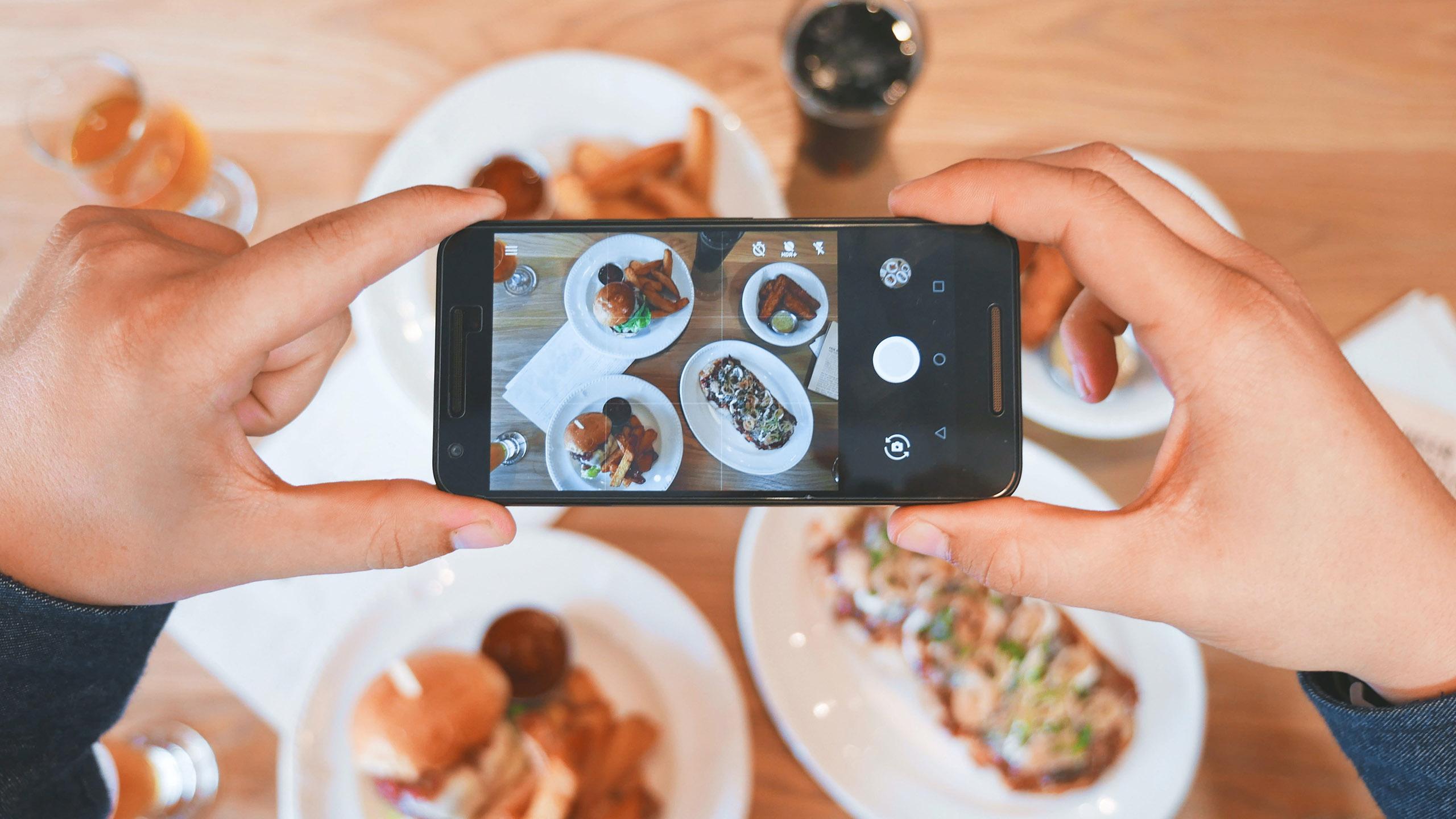 redes sociales, restaurante