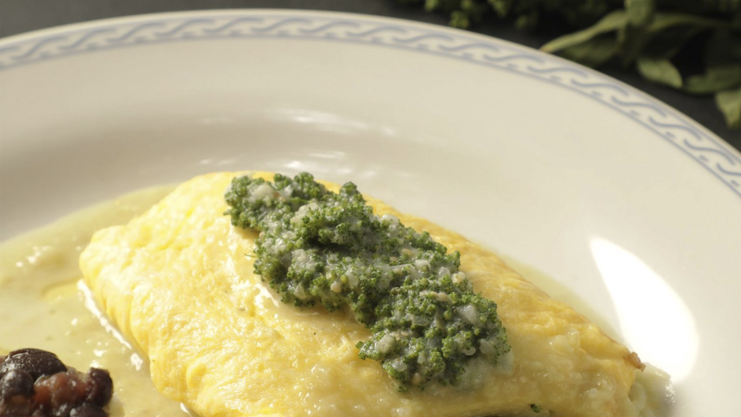omelette, receta de omelette con huauzontle