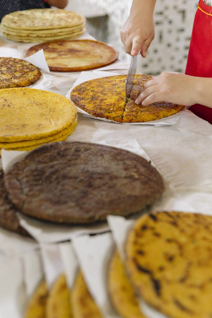 tortillas gruesas