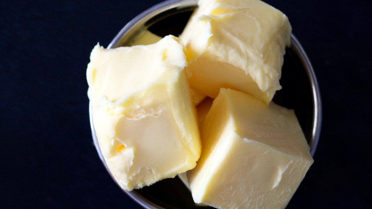 mantequillas falsas en el supermercado