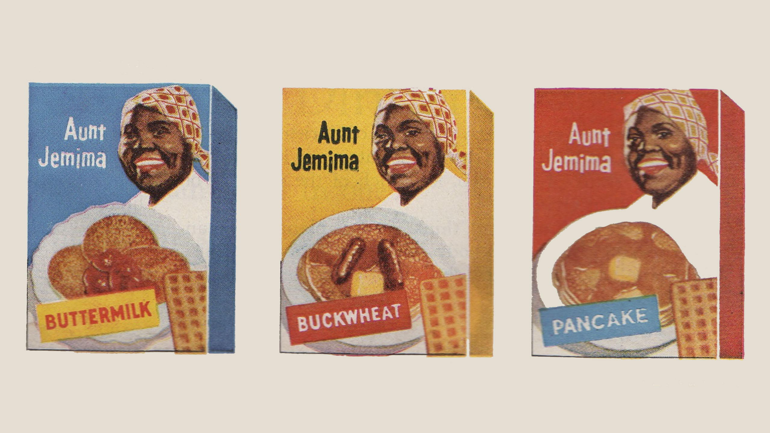 Aunt Jemima, hot cakes, Quaker Oats