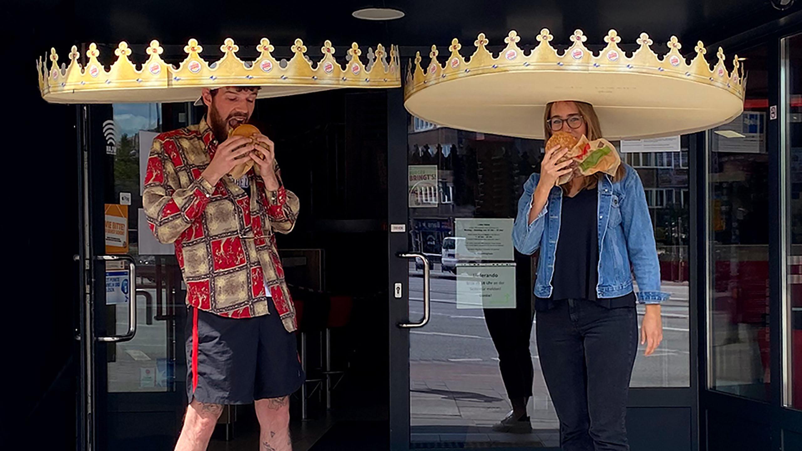 Burger King, coronas, coronavirus