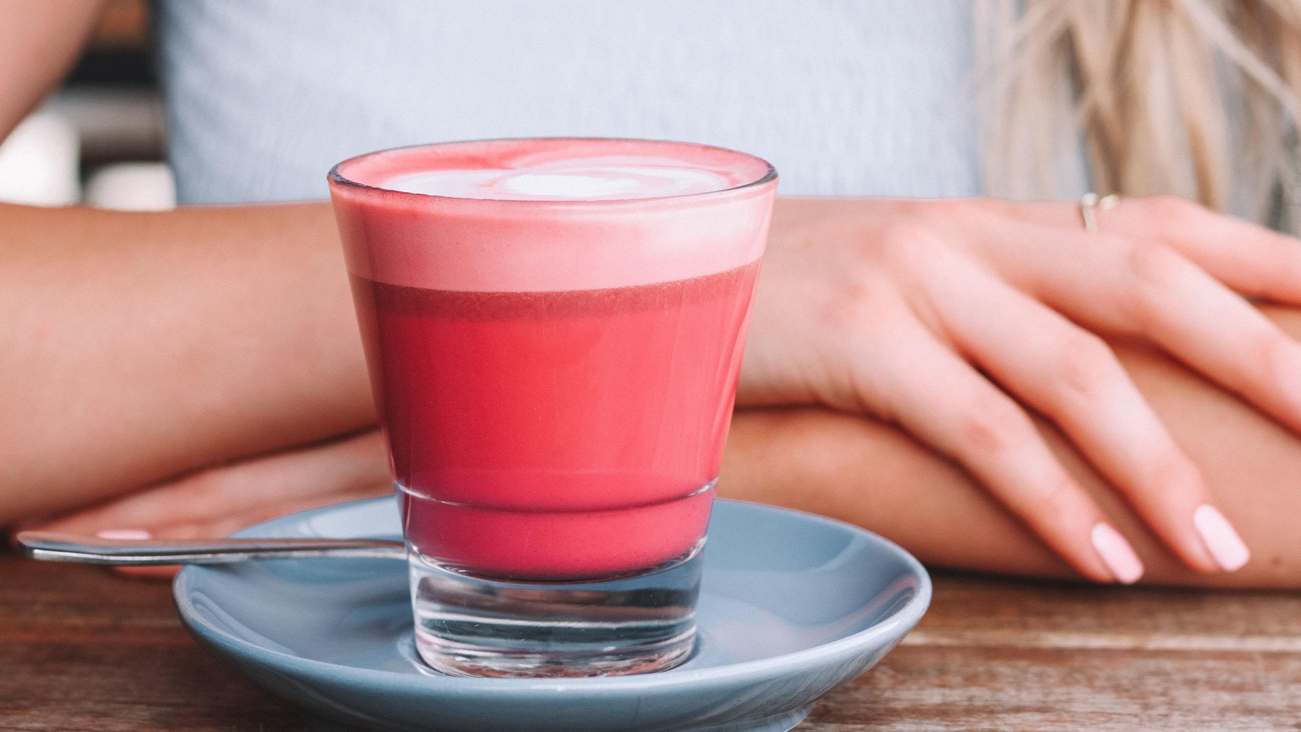 café, café rosa, latte