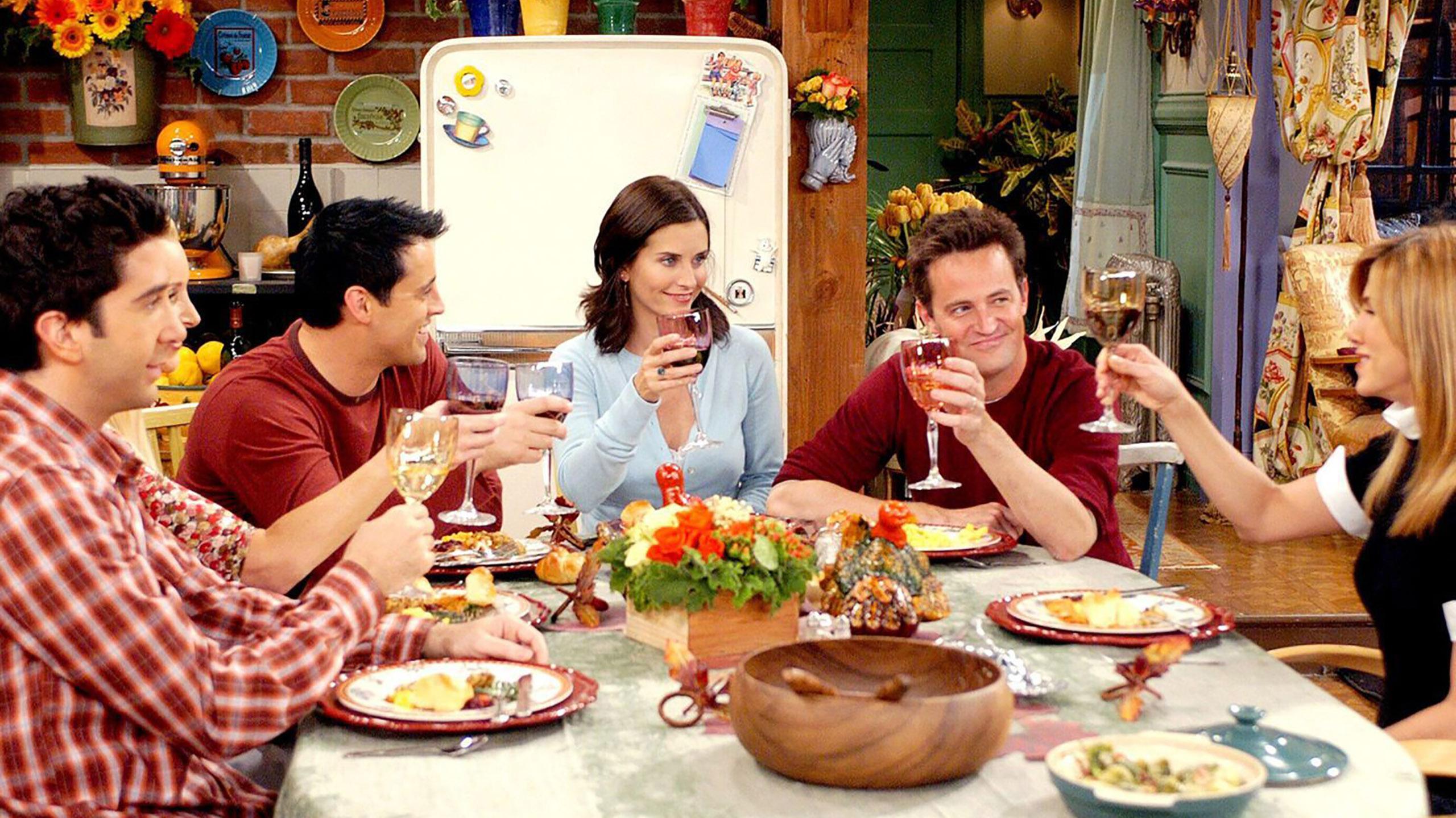 serie de televisión, Friends, libro de cocina