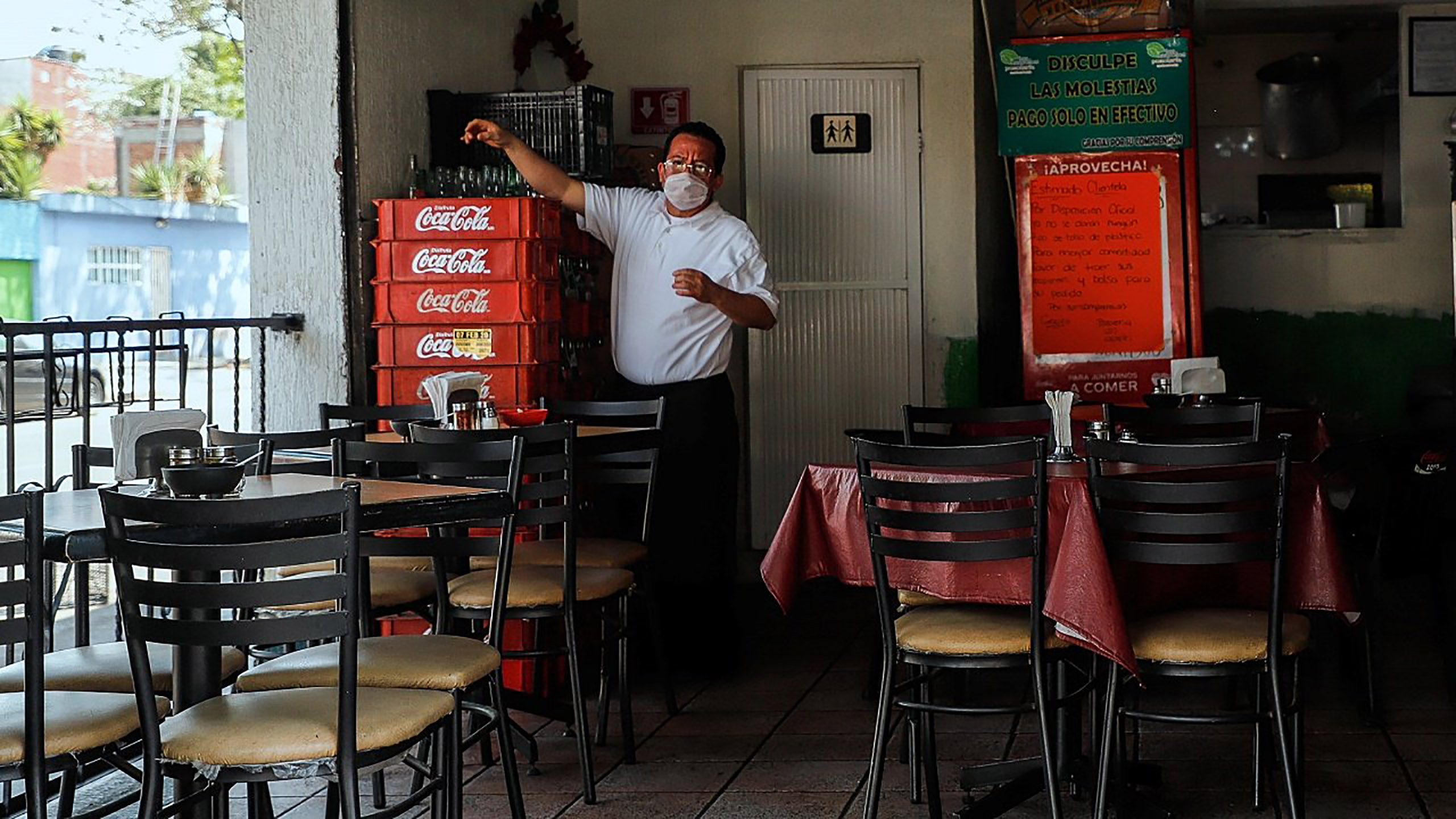 coronavirus, semáforo naranja, reapertura de restaurantes, semáforo rojo