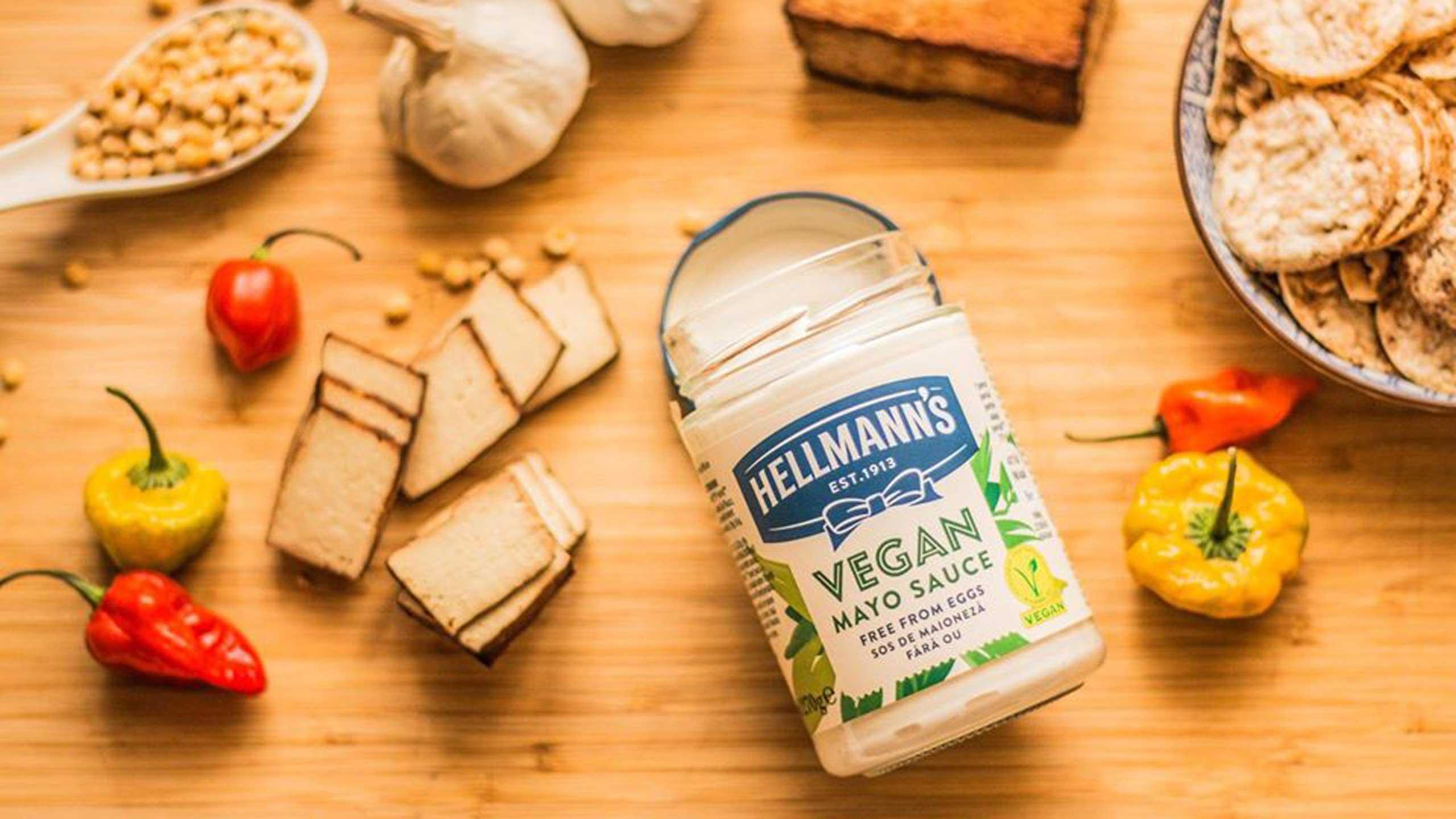 mayonesa vegana con sello V-Label