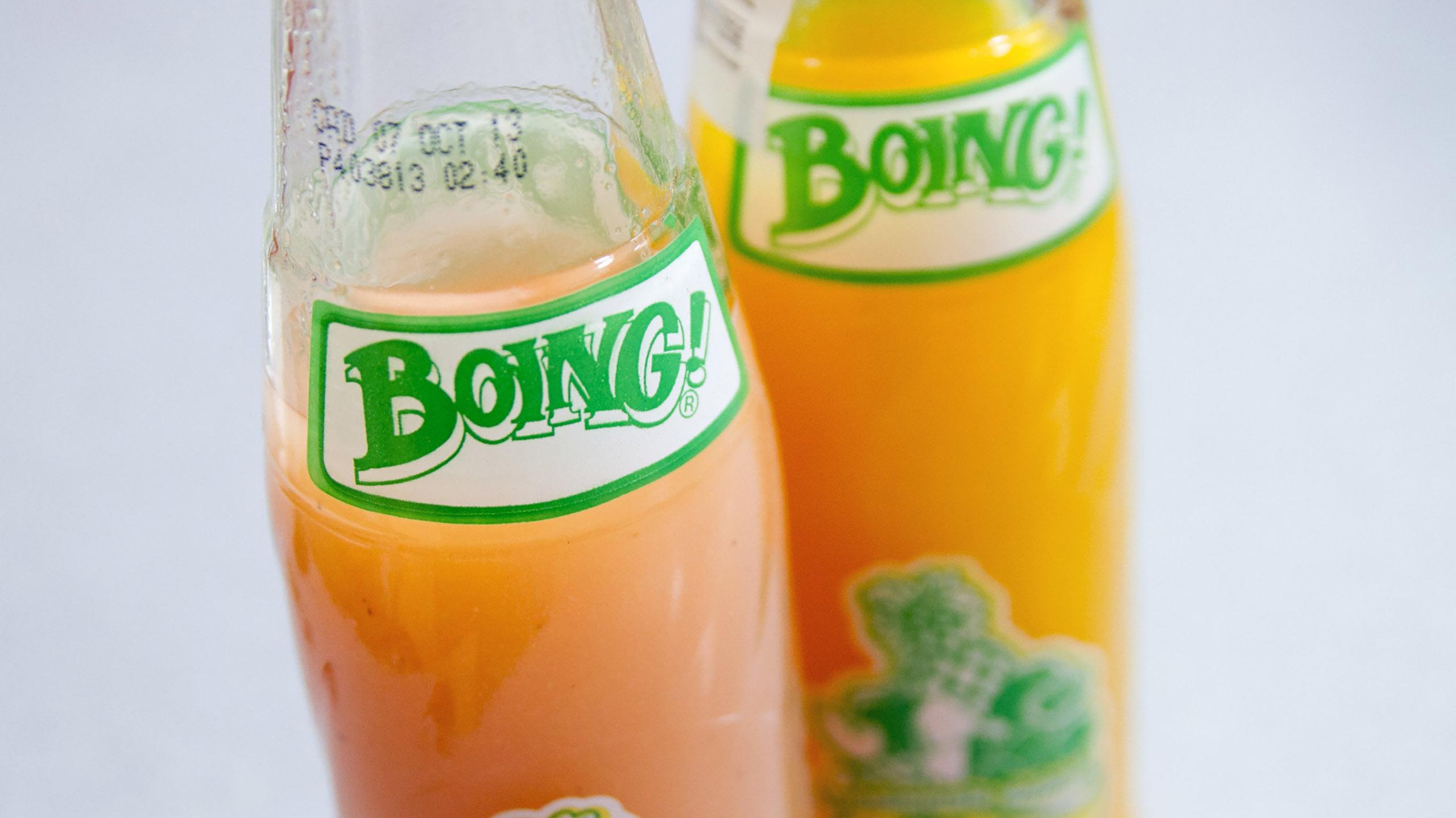 Boing, jugo de fruta, Boing guayaba, Boing mango