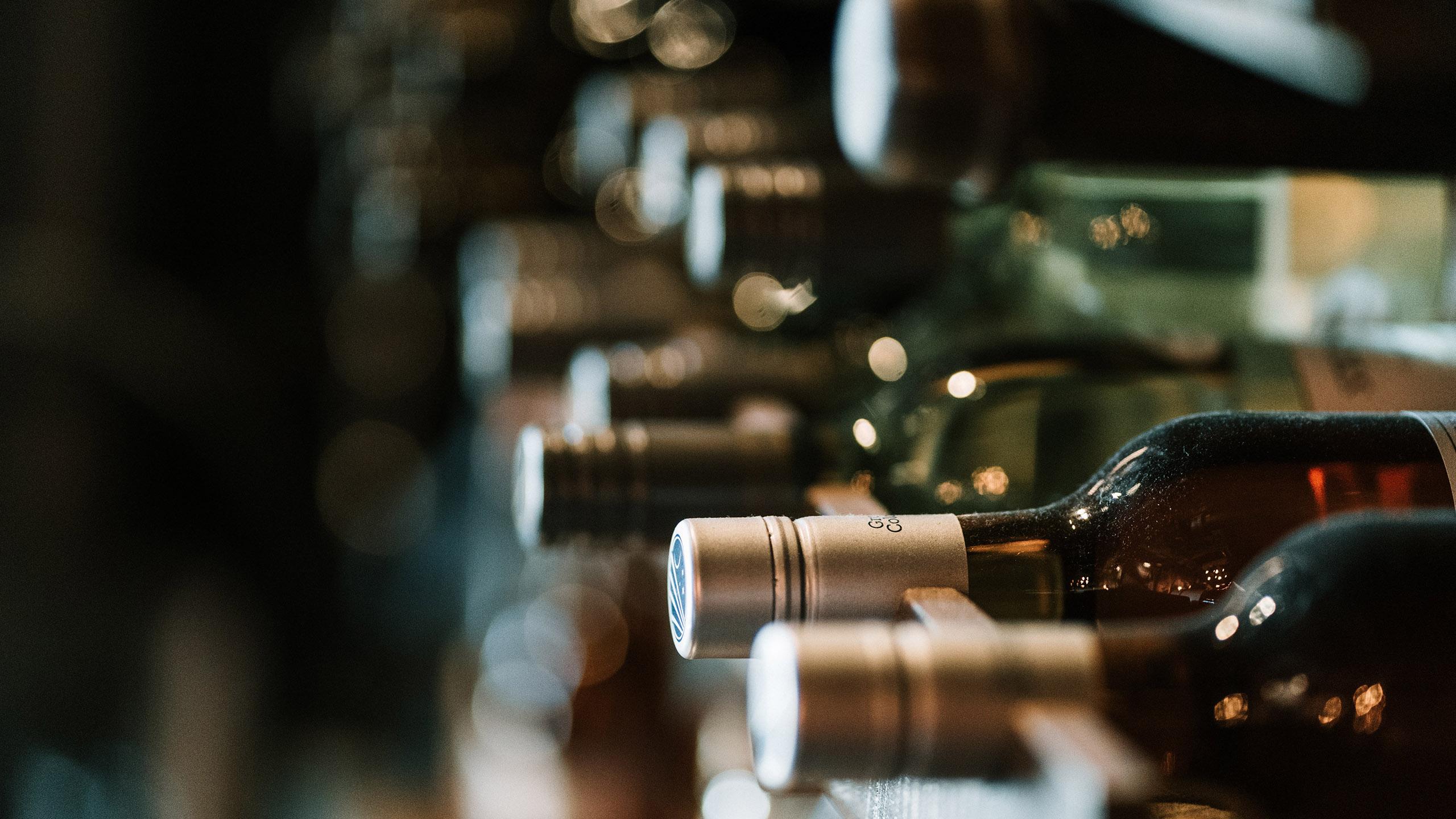 vino, botella de vino, viñedo