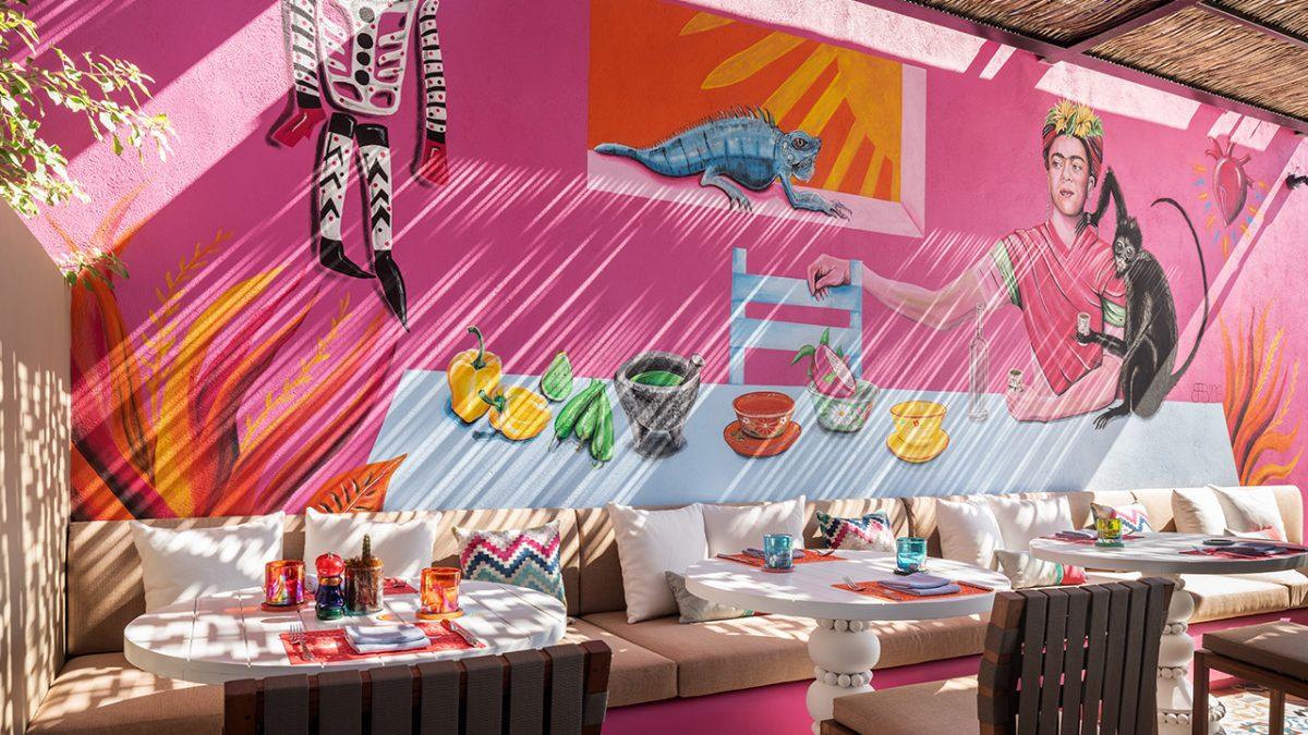 Restaurante El Barrio en el Hotel Zadun, los Cabos