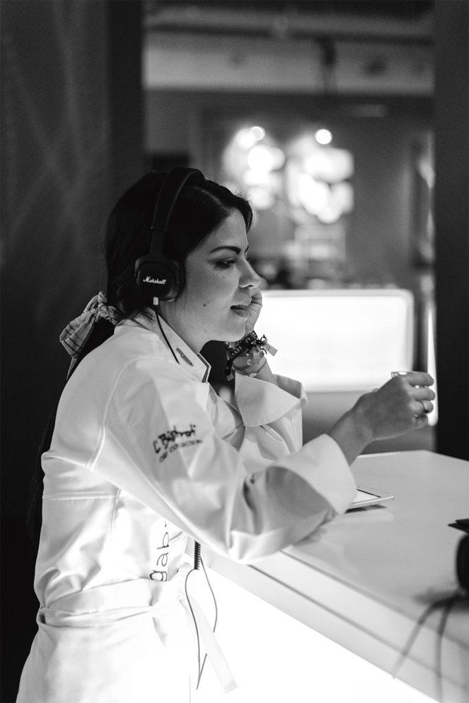 Chef Gaby Ruiz Food & Wine Table