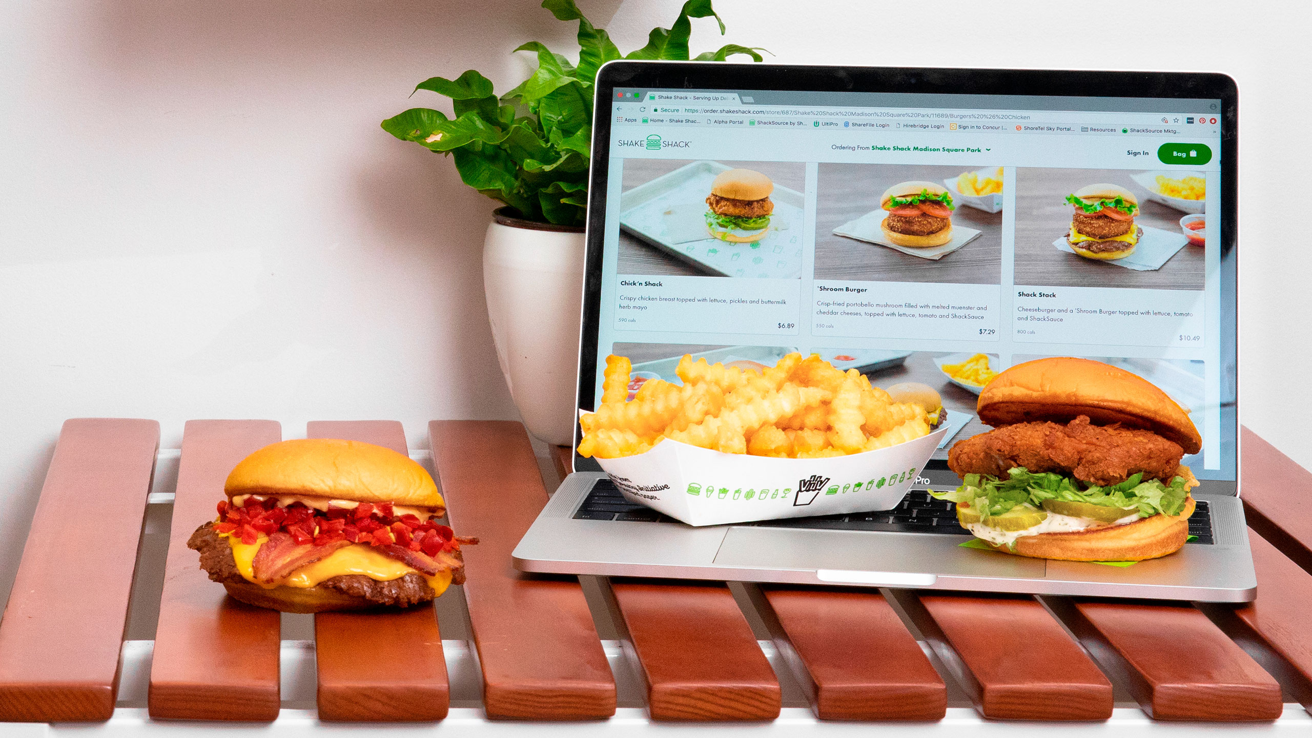 shake shack plataforma pick up