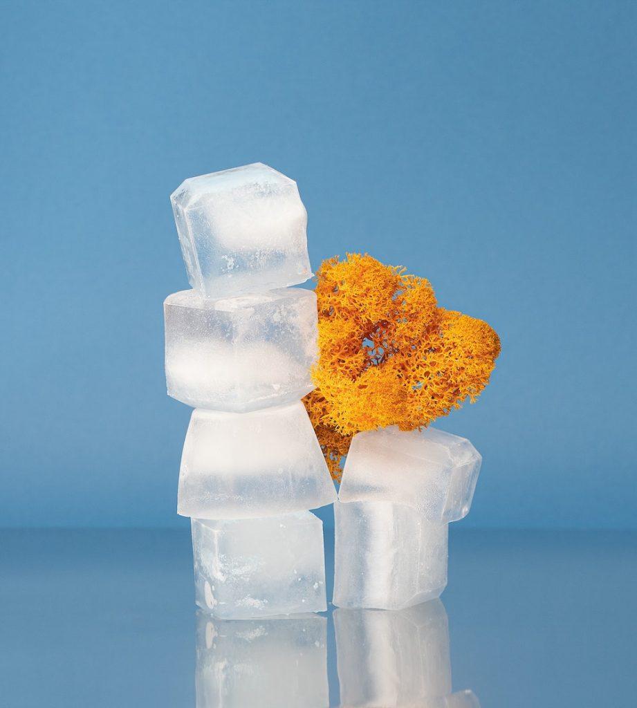 Ice cubes / cubos de hielo