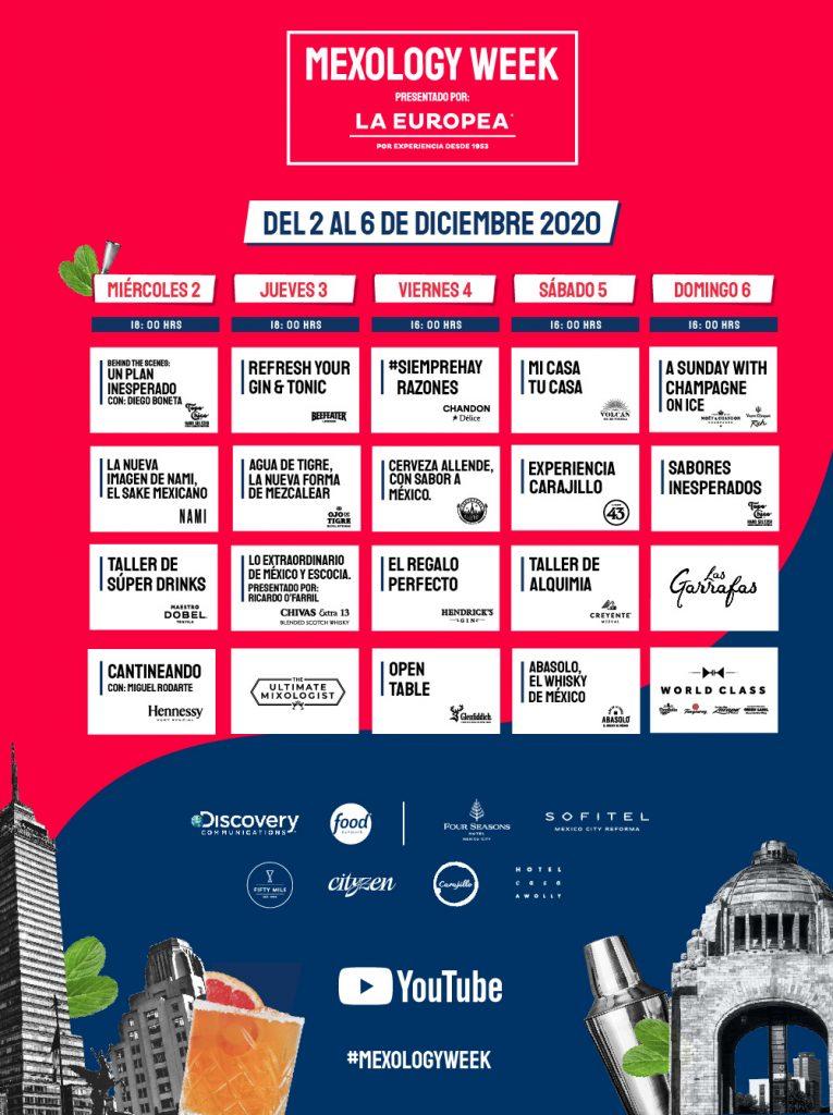 MEXOLOGY week - calendario de actividades