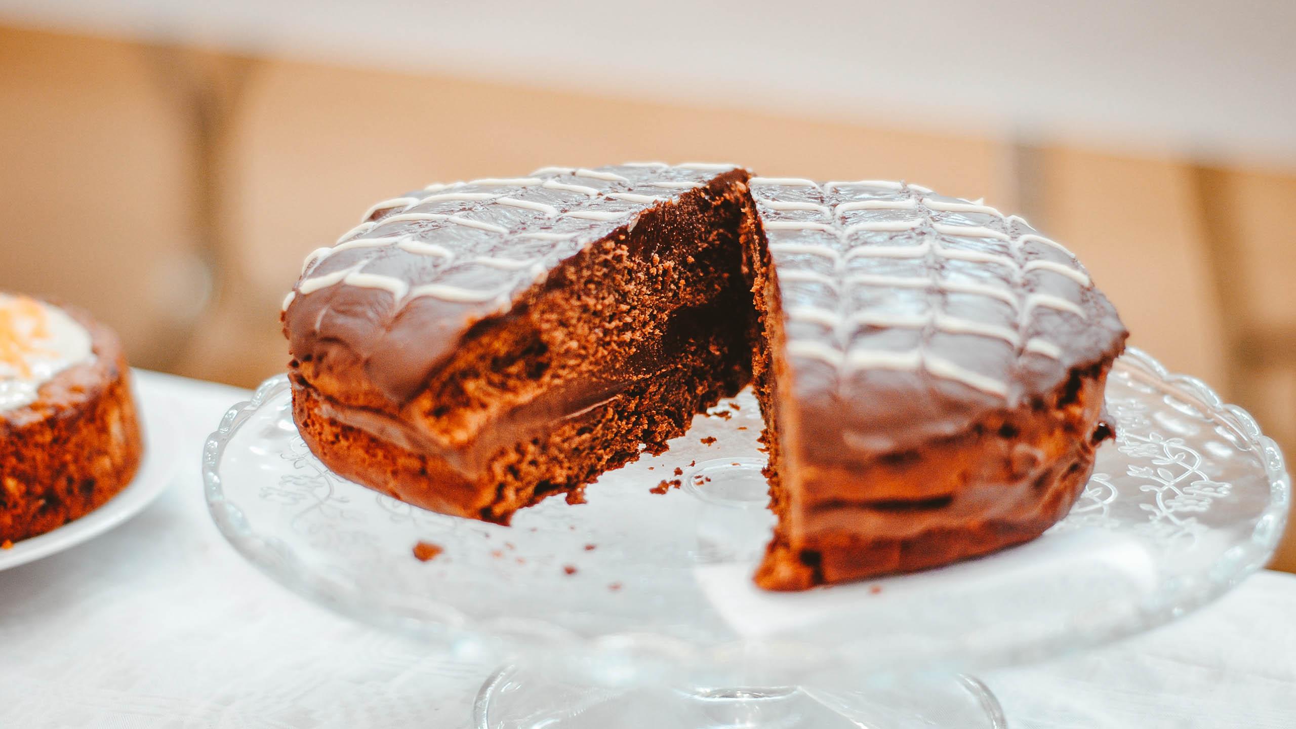 torta de chocolate, pastel de chocolate, chocolate, postre