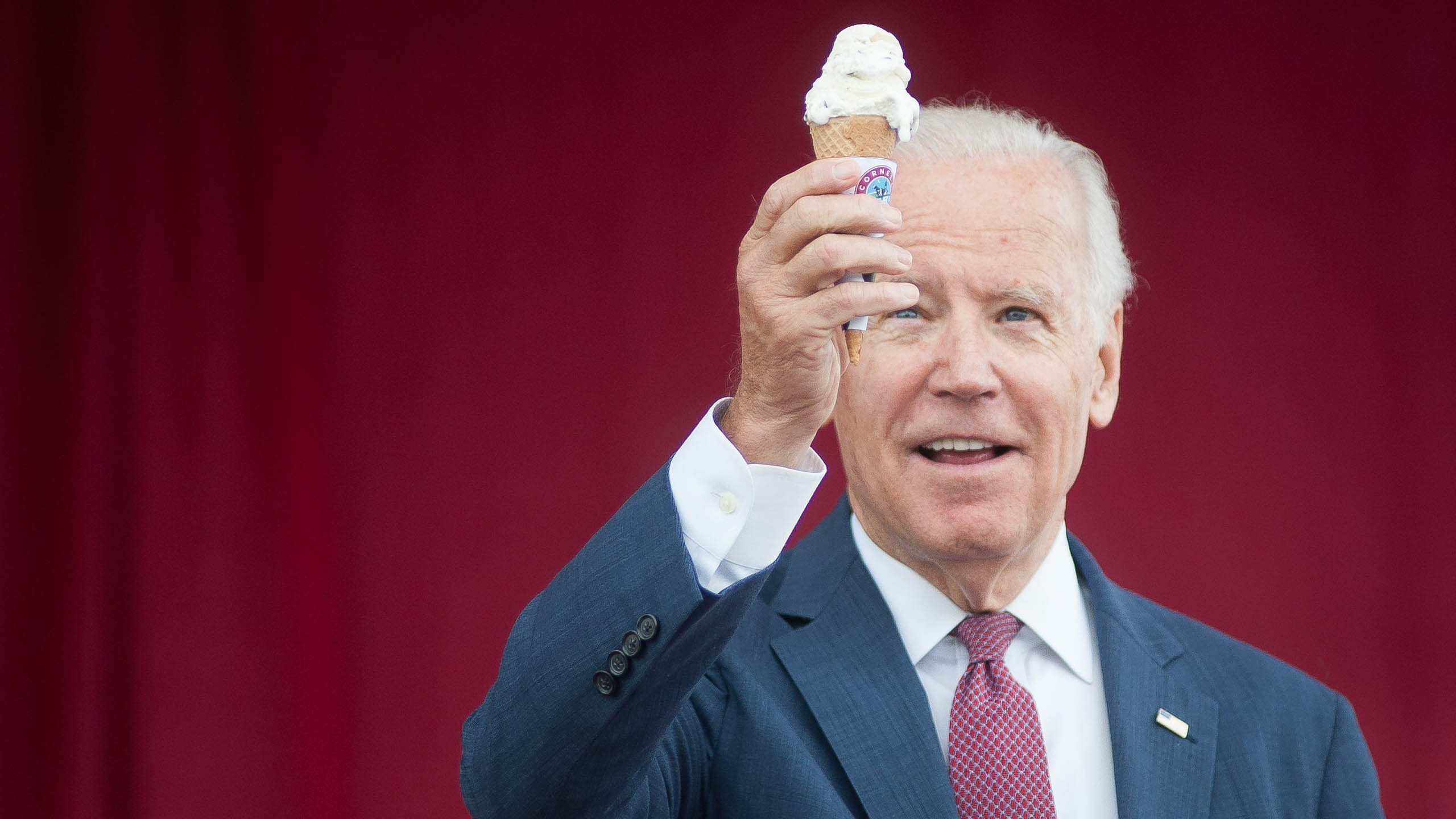 Joe Biden, helado, ice cream, presiente de Estados Unidos
