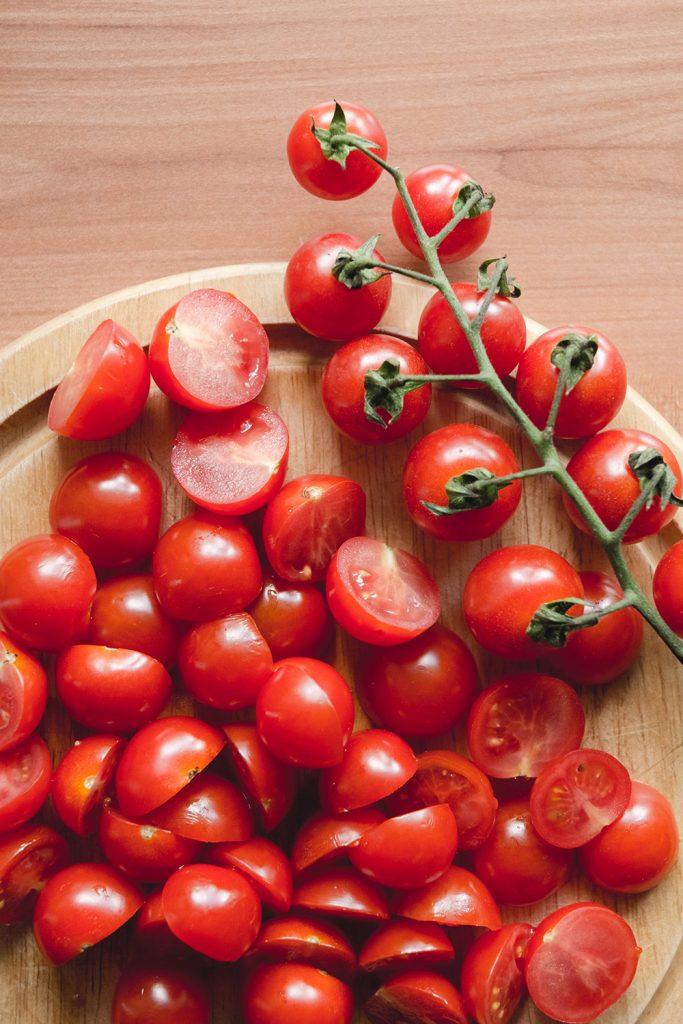 Verduras y vegetales rojos