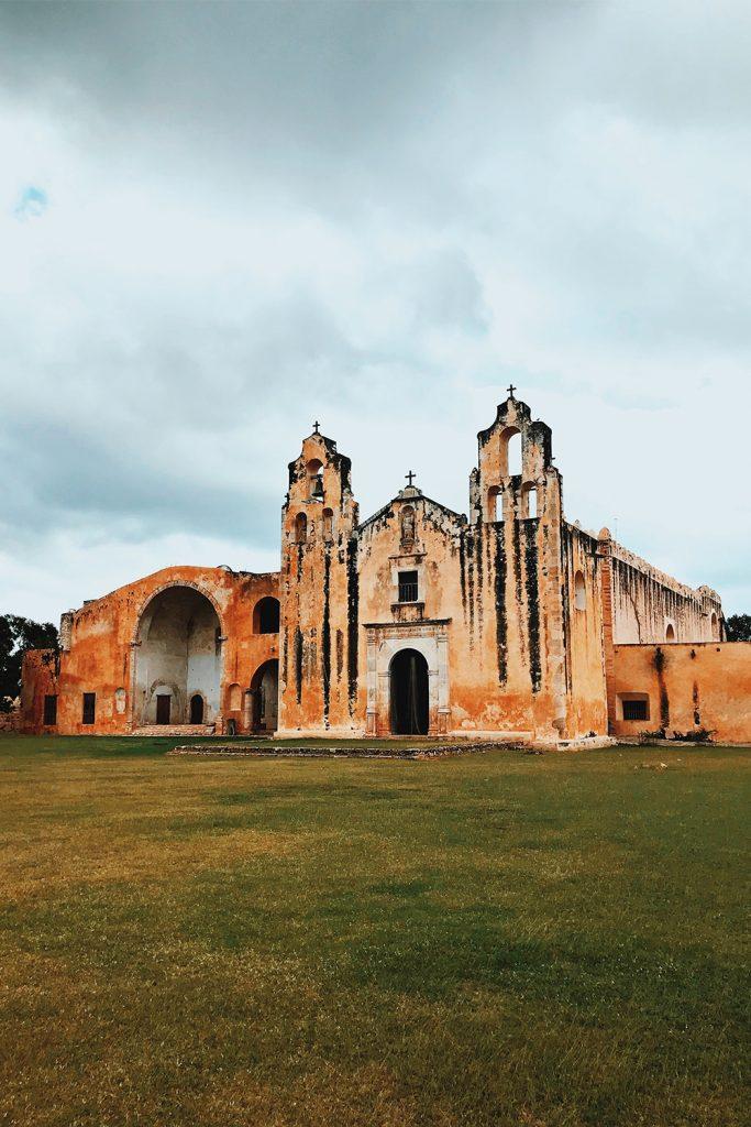 convento, arquitectura, yacatan