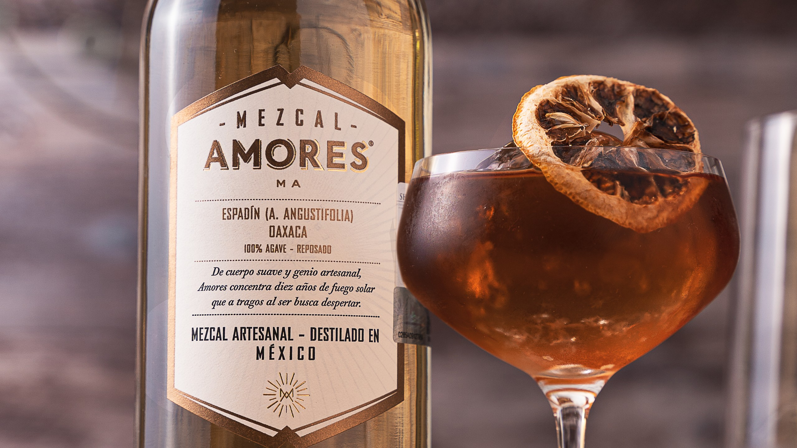 Mezcal amores cocktail1