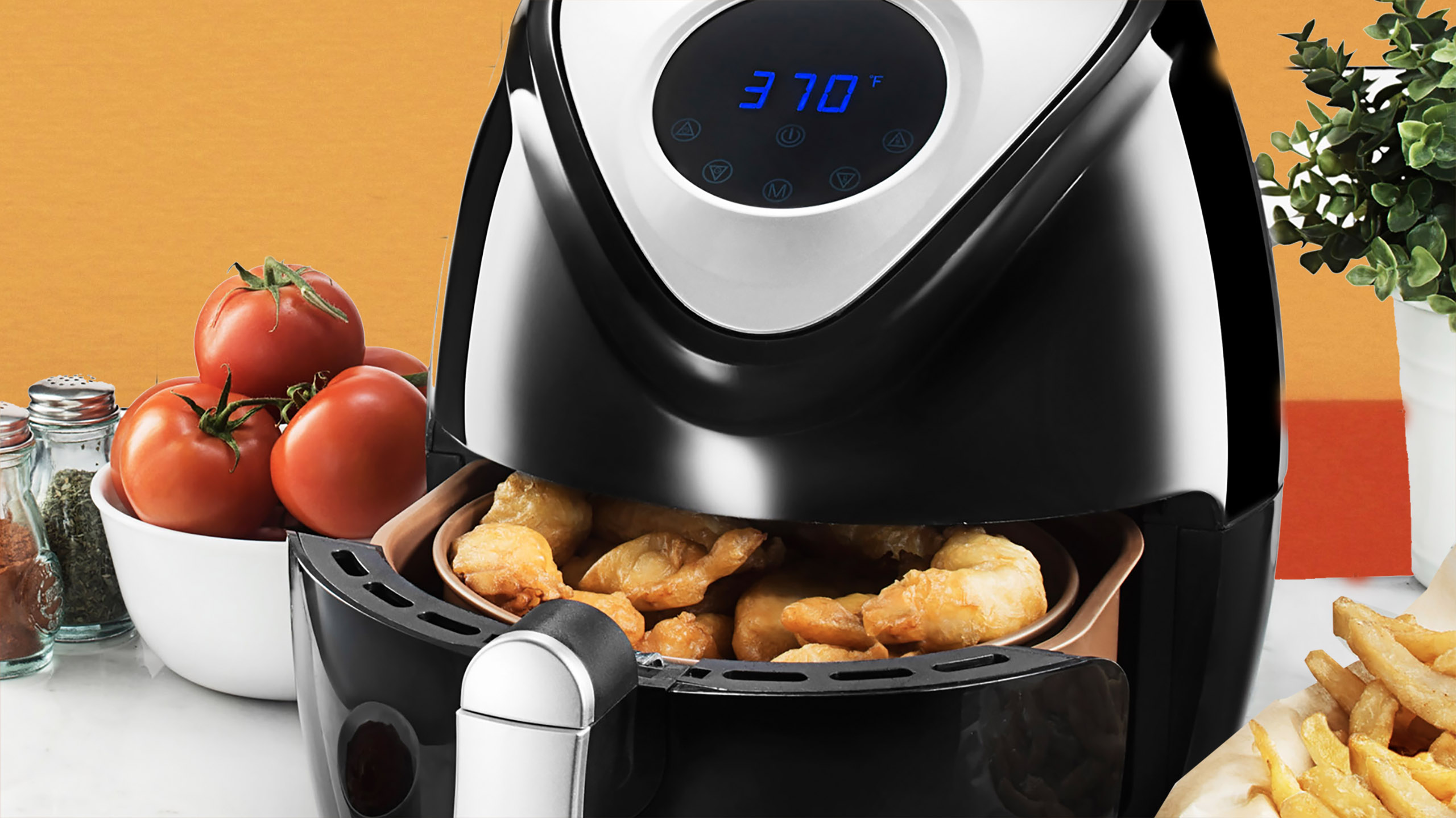 freidora de aire, air fryer, freir con aire
