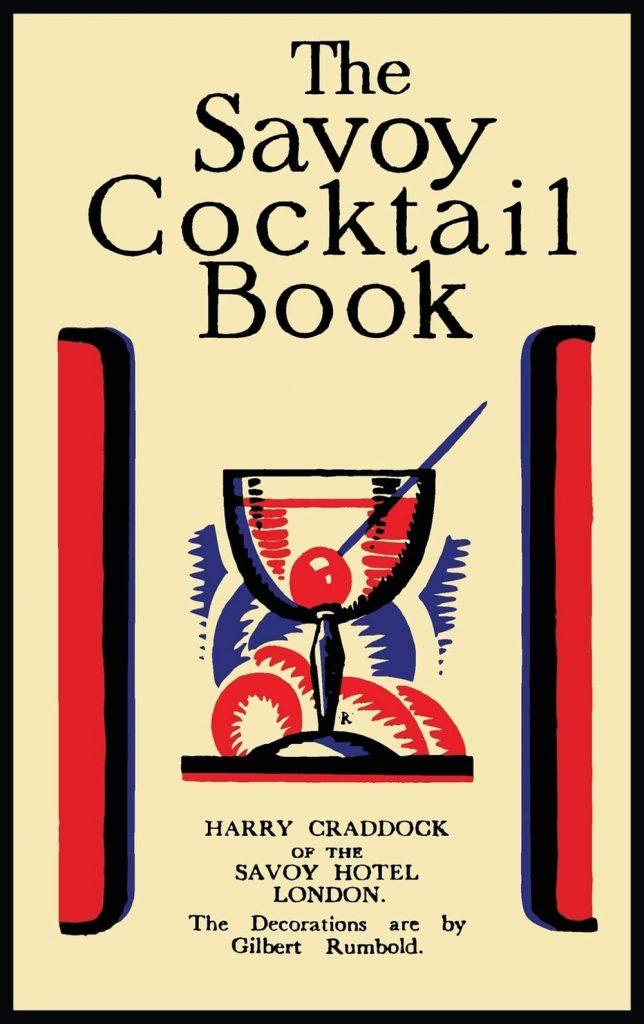Libros de coctelería para regalar en Navidad, The Savoy Cocktail Book