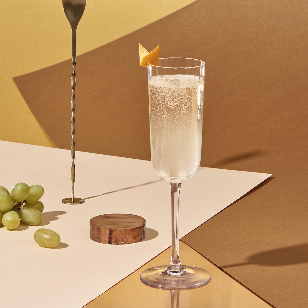 Cocteles bajos en calorías-Cointreau royal