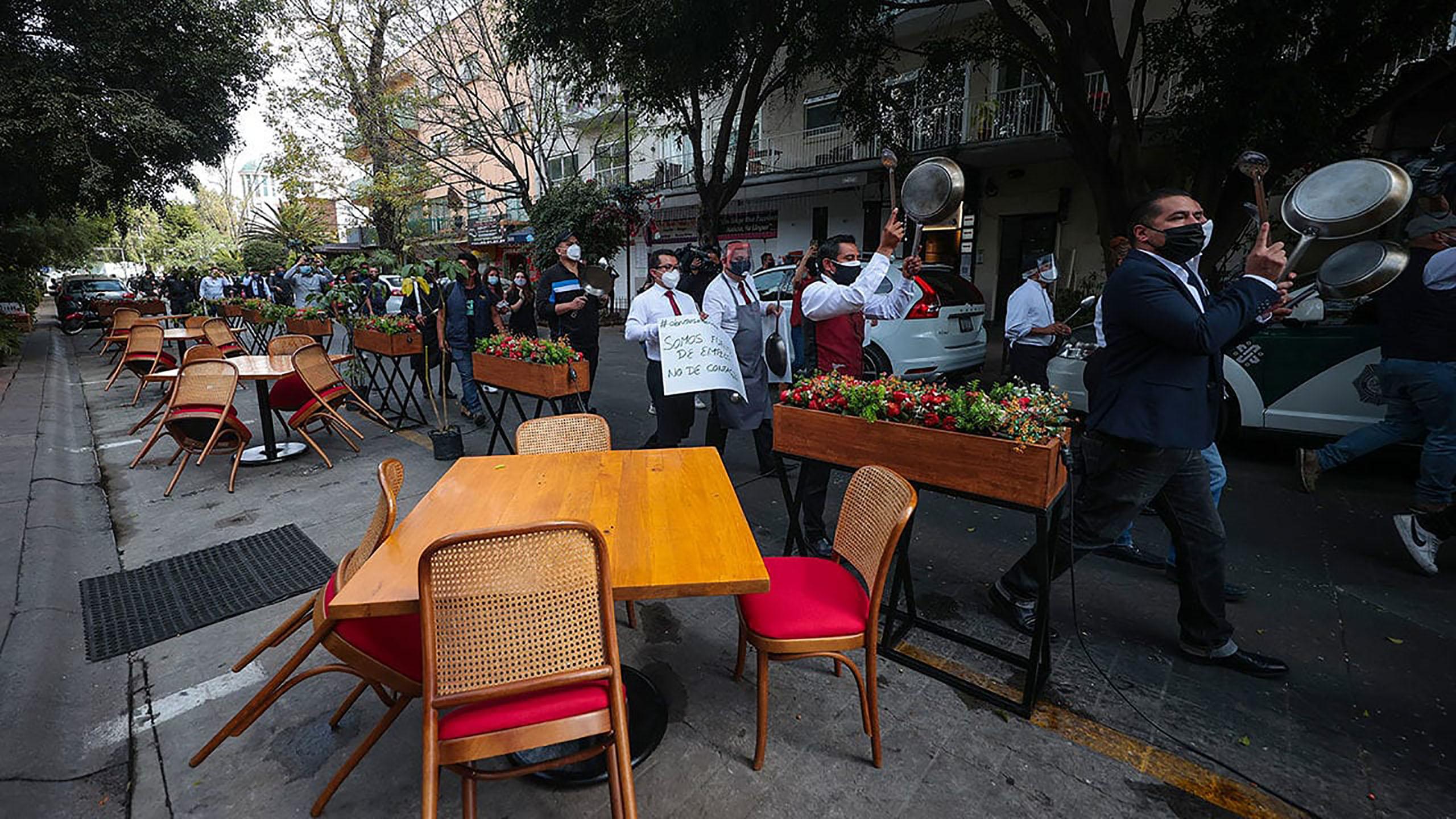 reapertura en restaurantes de la CDMX