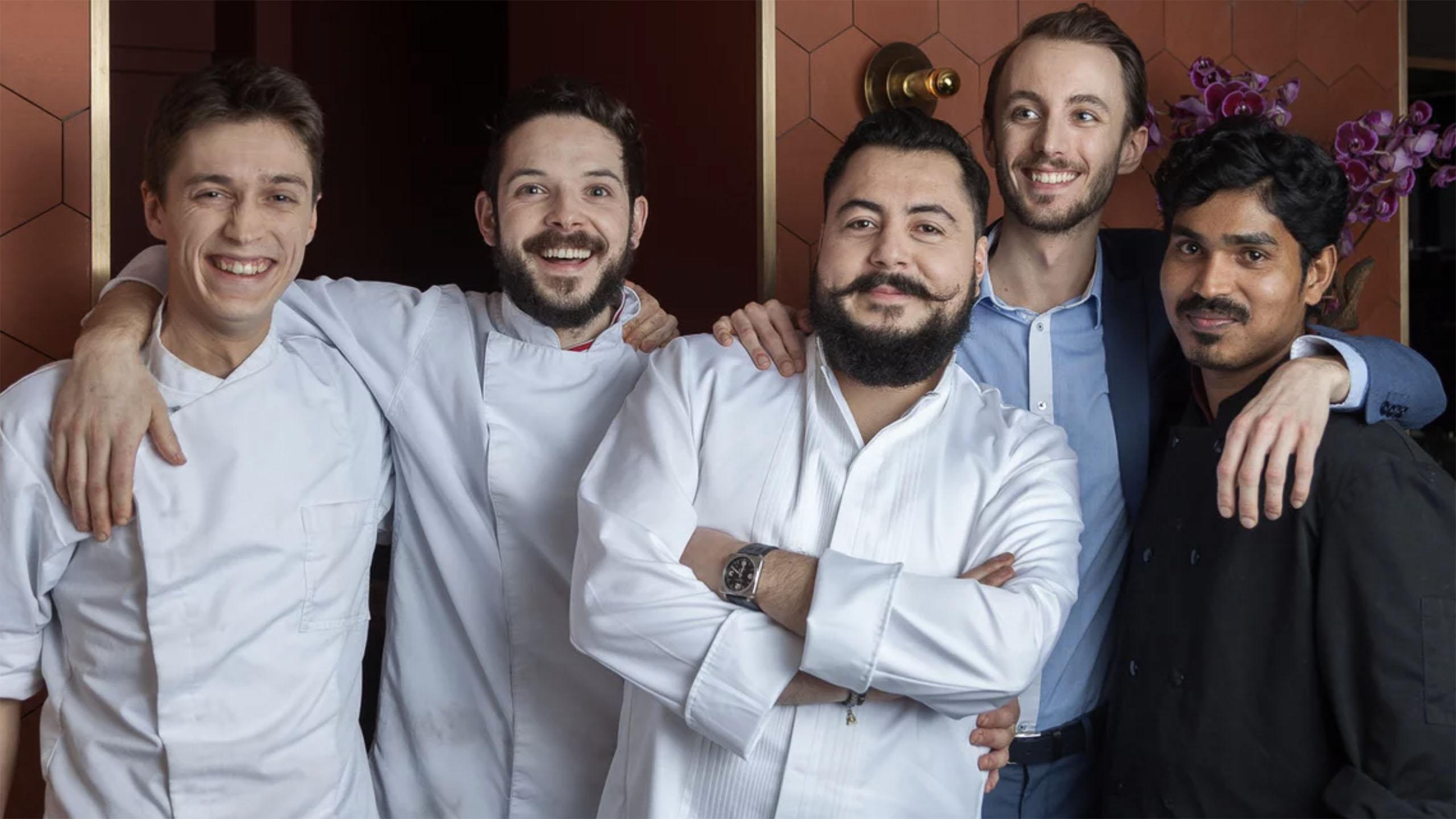 Enrique Casarrubias, chef mexicano, estrella Michelin